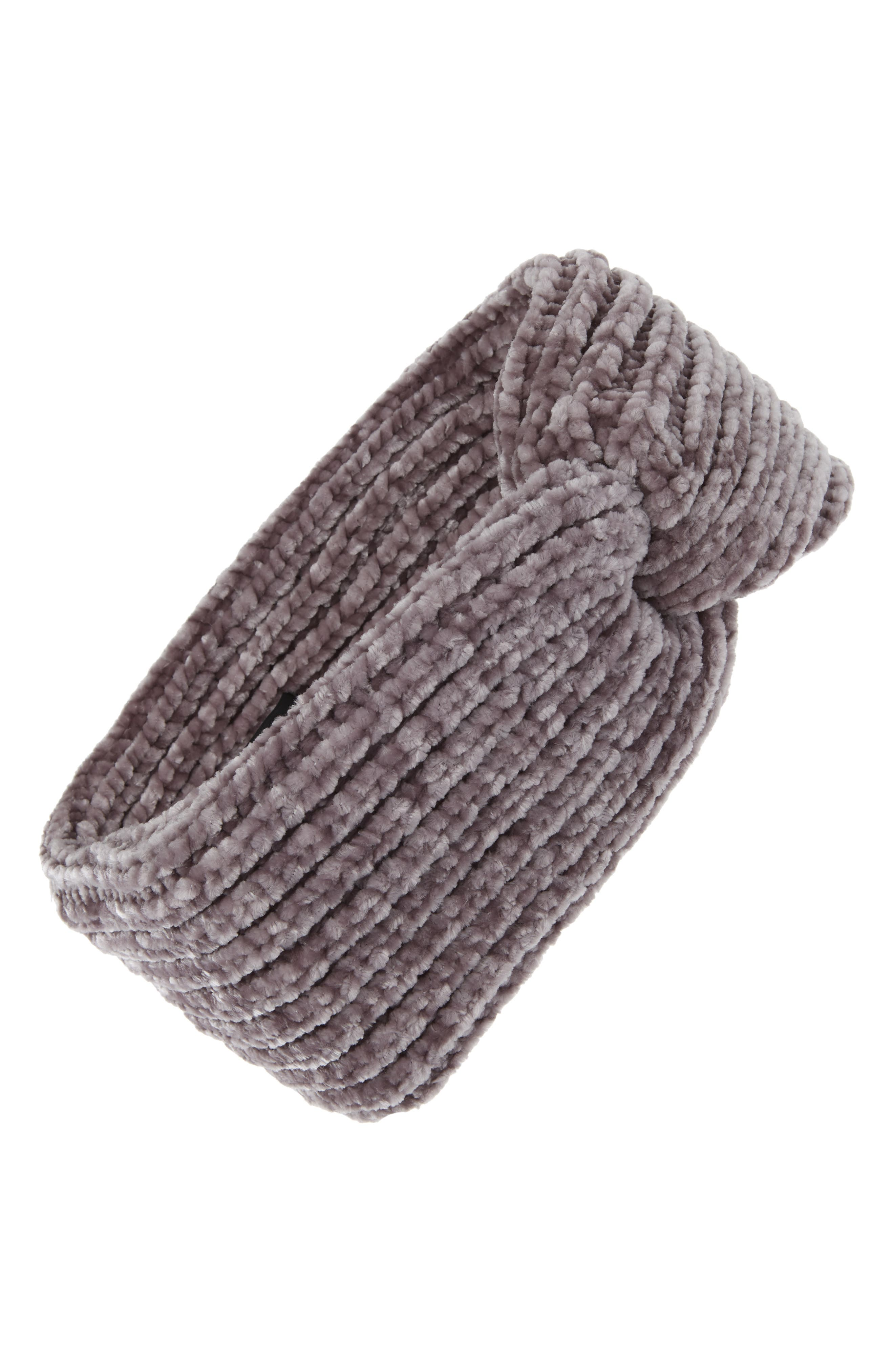 Chenille Headband,                         Main,                         color, 020