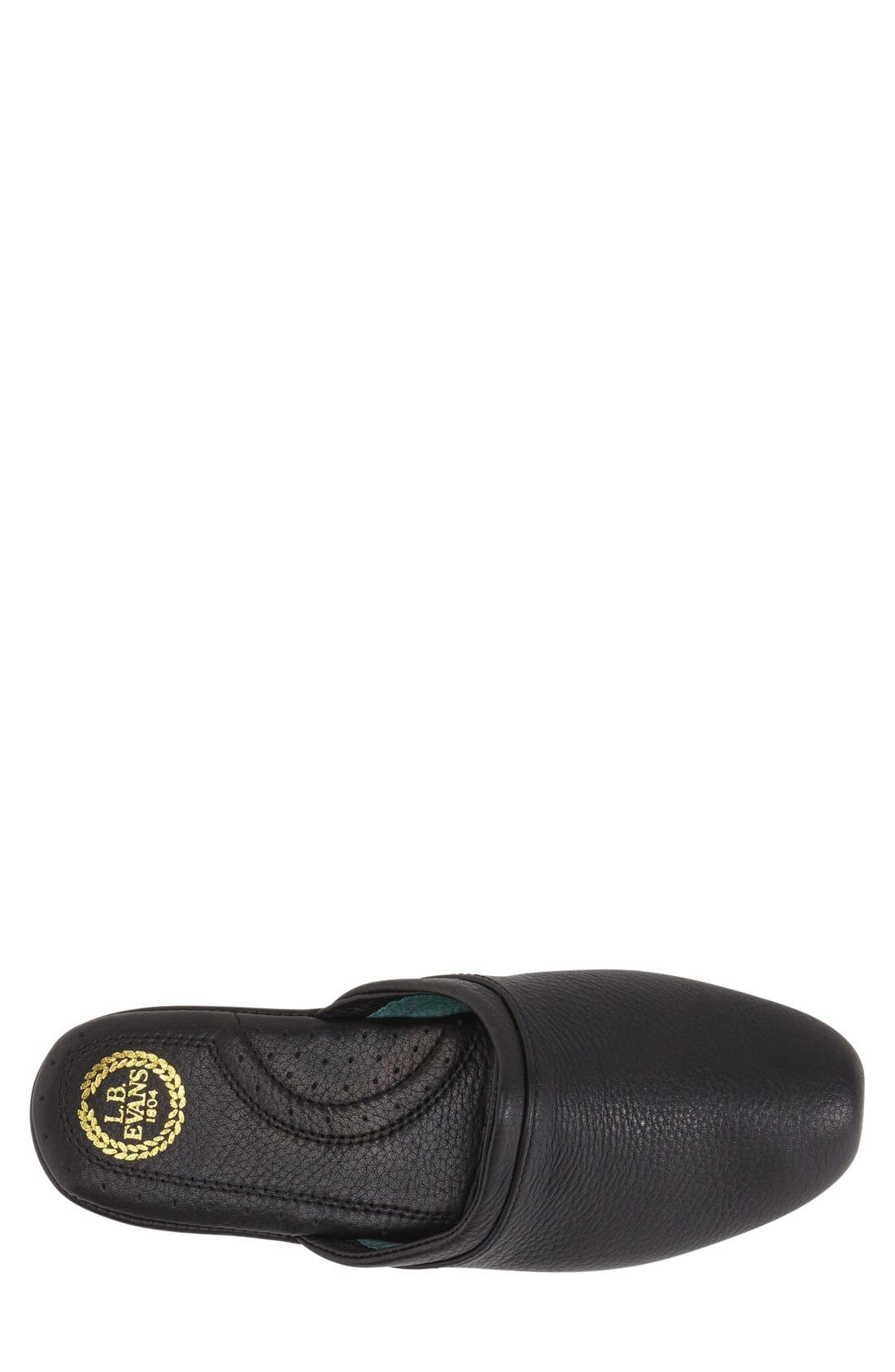 'Aristocrat' Scuff,                             Alternate thumbnail 6, color,                             Black
