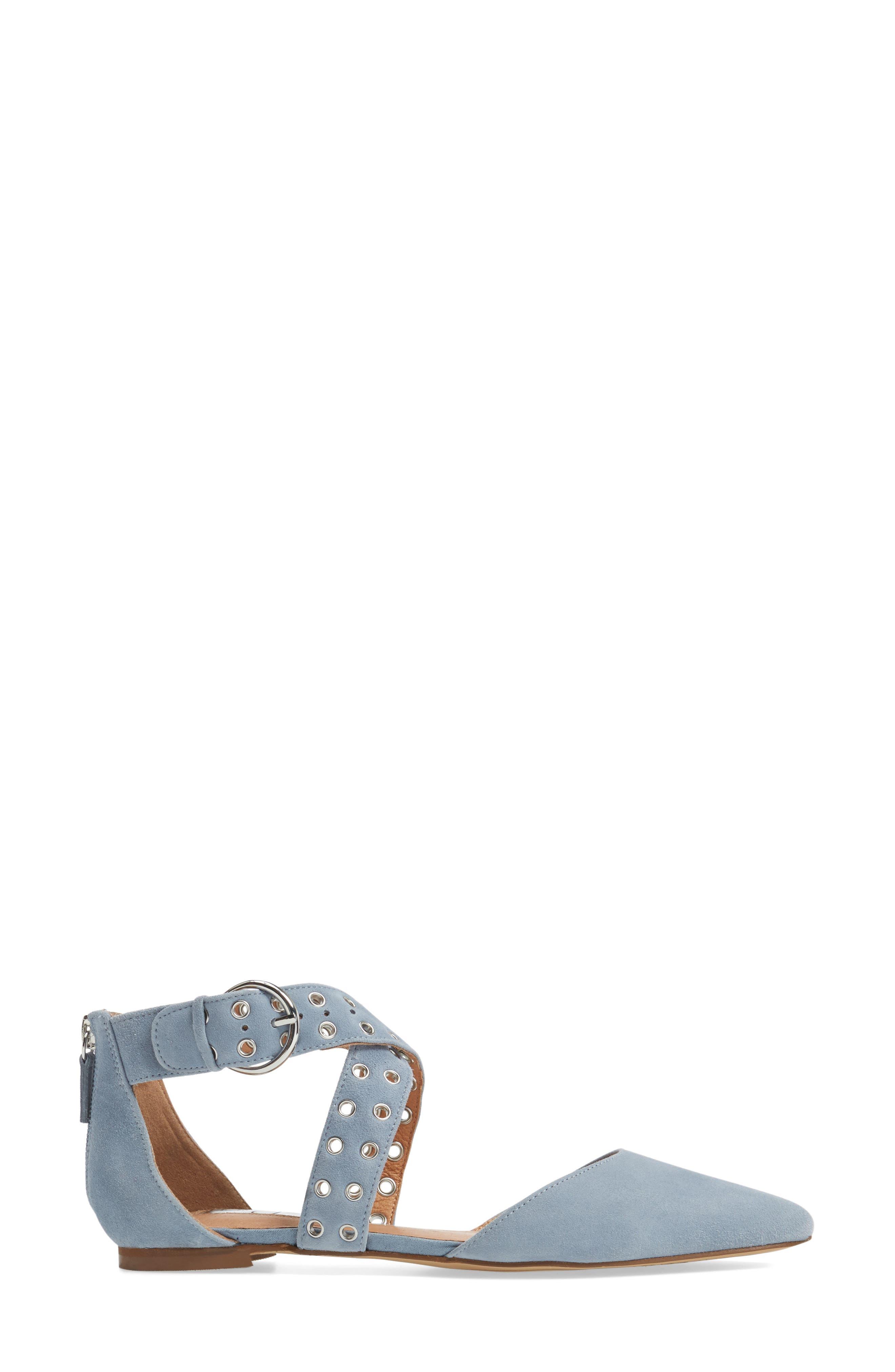 Molly Pointy Toe Flat,                             Alternate thumbnail 16, color,