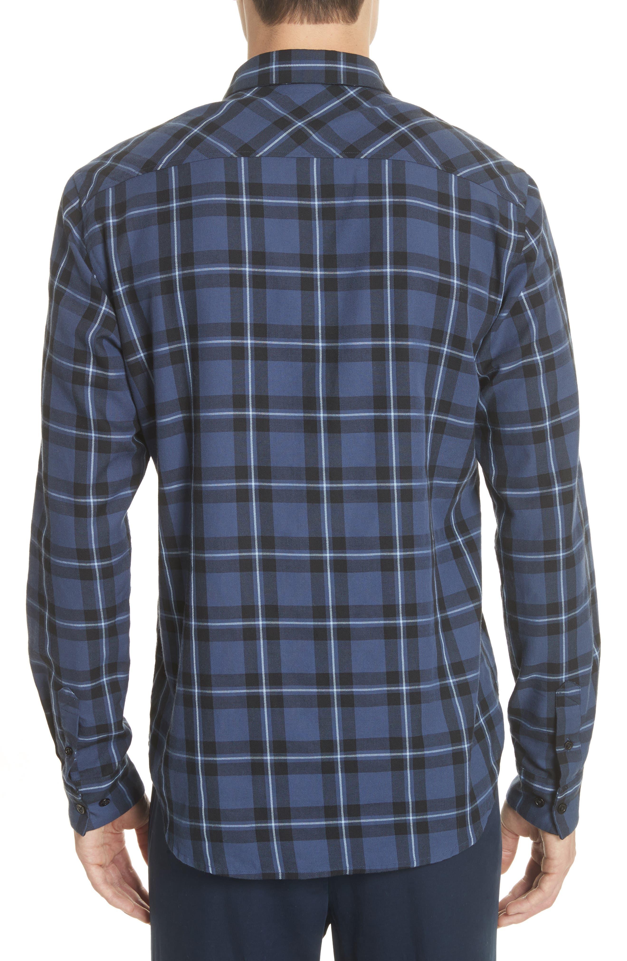 Hans Check Woven Shirt,                             Alternate thumbnail 2, color,                             410