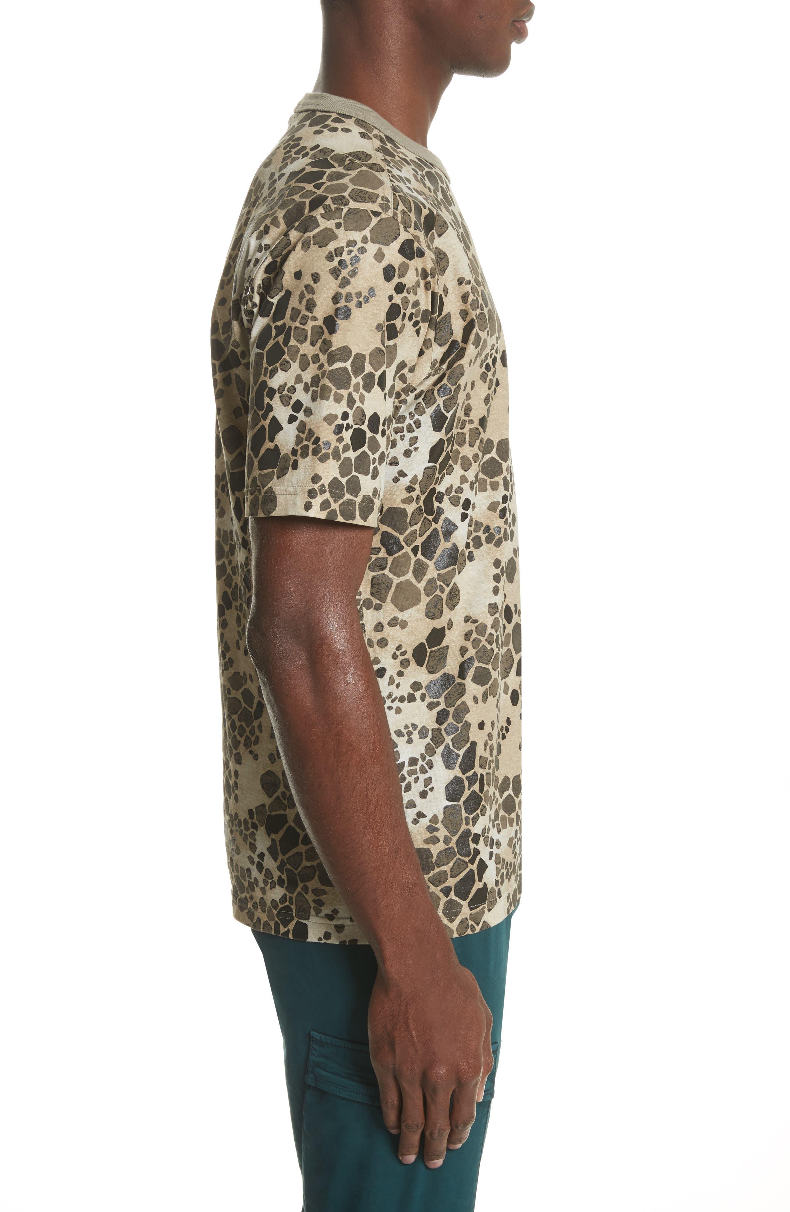 Camo Print T-Shirt,                             Alternate thumbnail 3, color,                             200