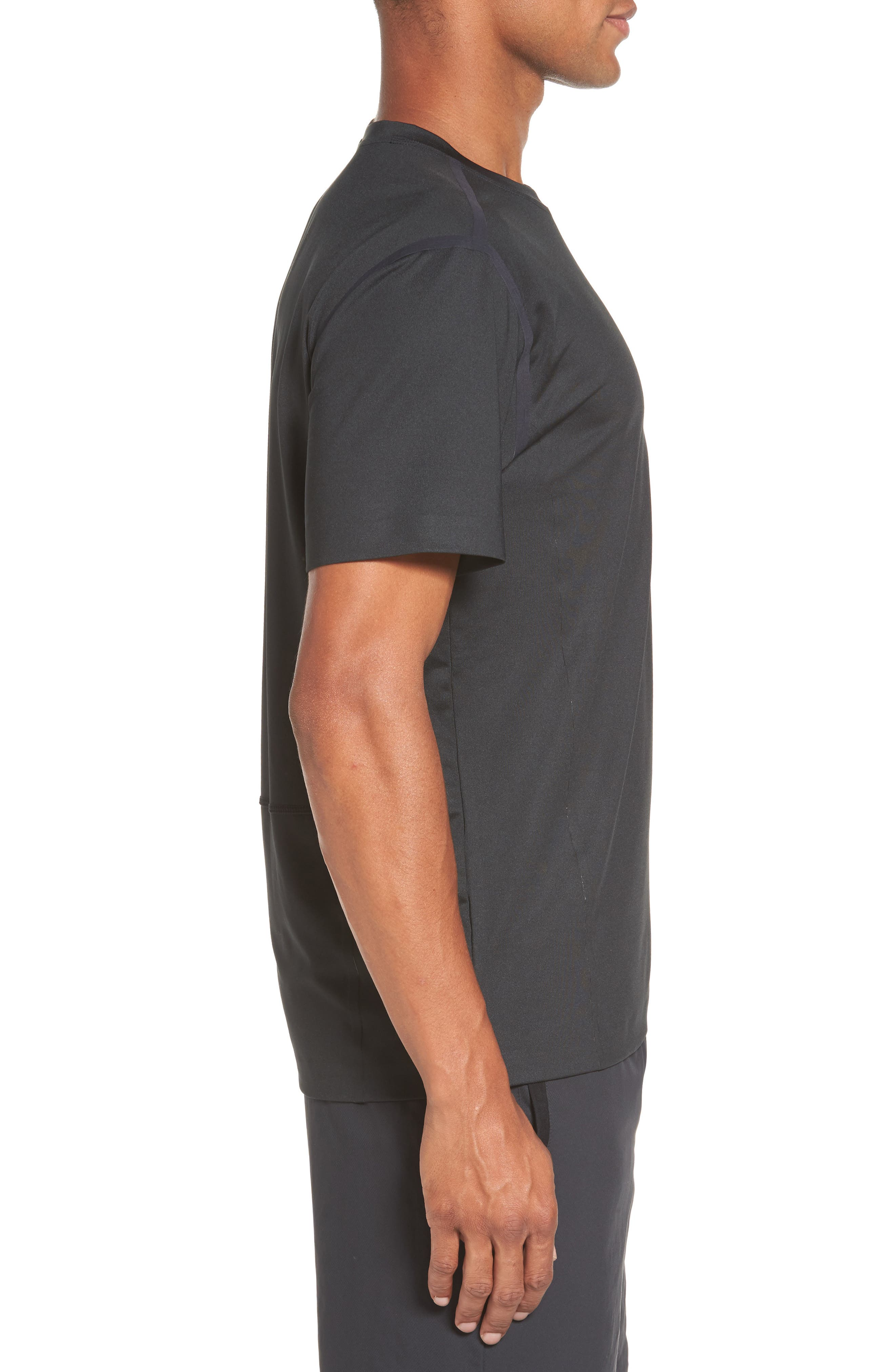 VA Compression T-Shirt,                             Alternate thumbnail 3, color,                             001