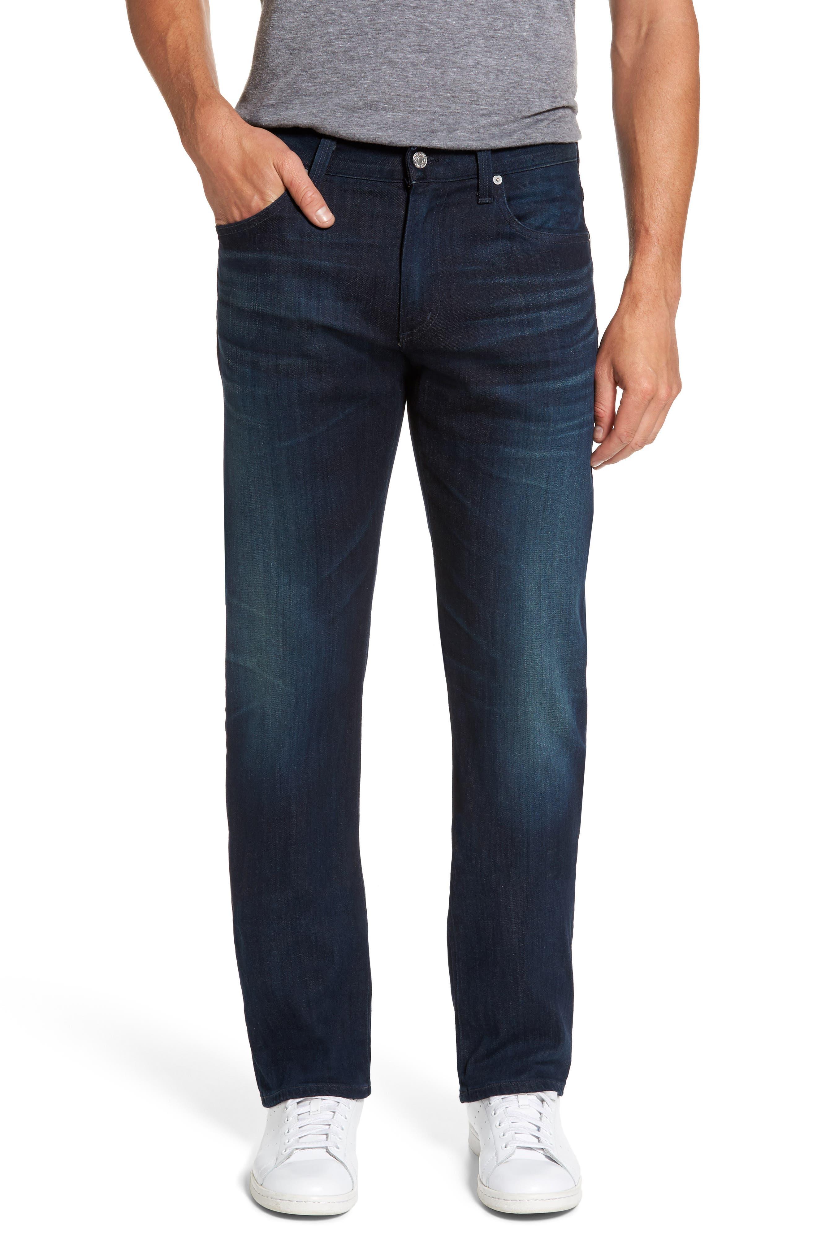 'Sid Classic' Straight Leg Jeans,                             Alternate thumbnail 2, color,                             473