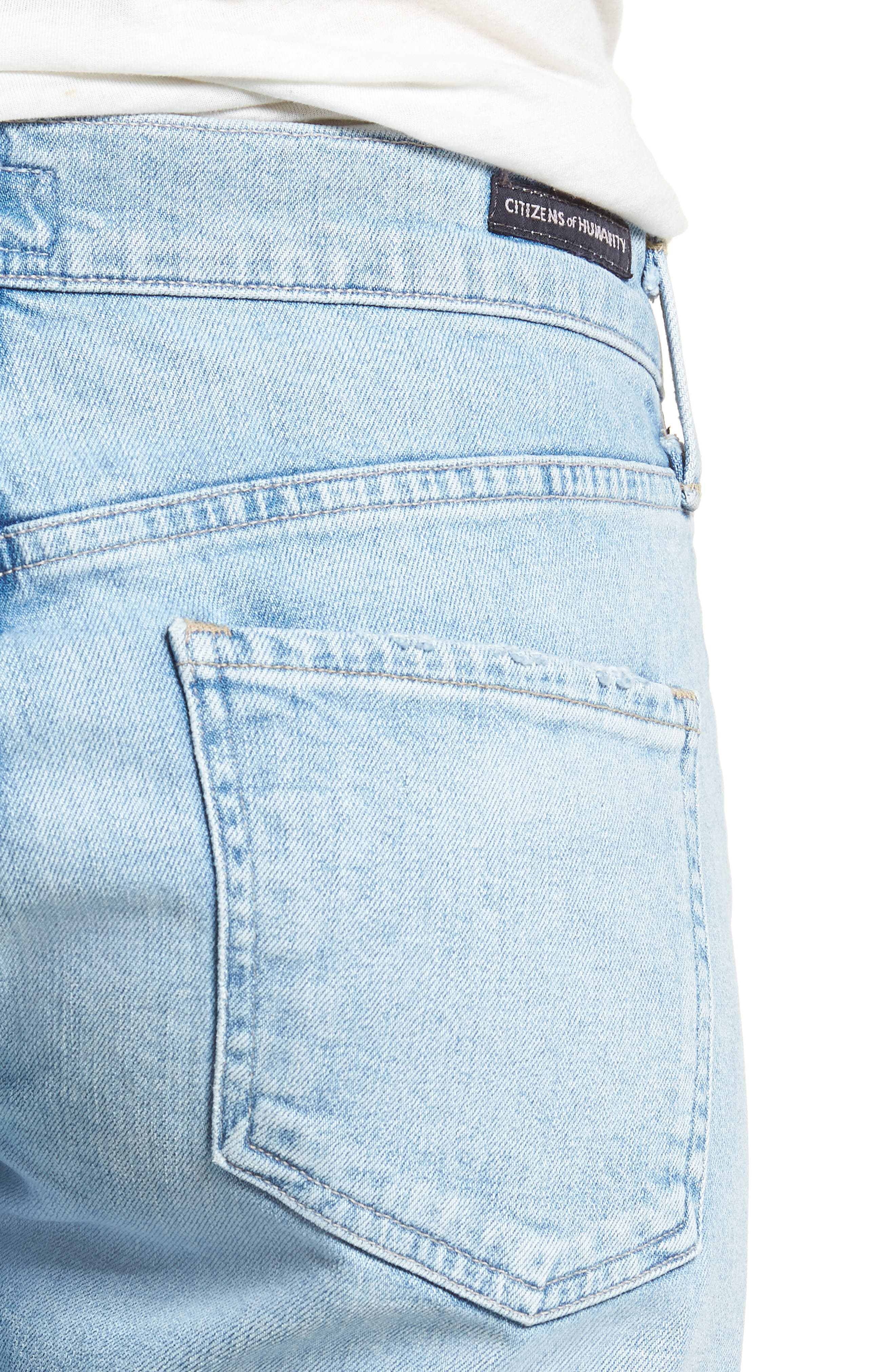 CITIZENS OF HUMANITY,                             Emerson Ripped Crop Slim Boyfriend Jeans,                             Alternate thumbnail 4, color,                             455