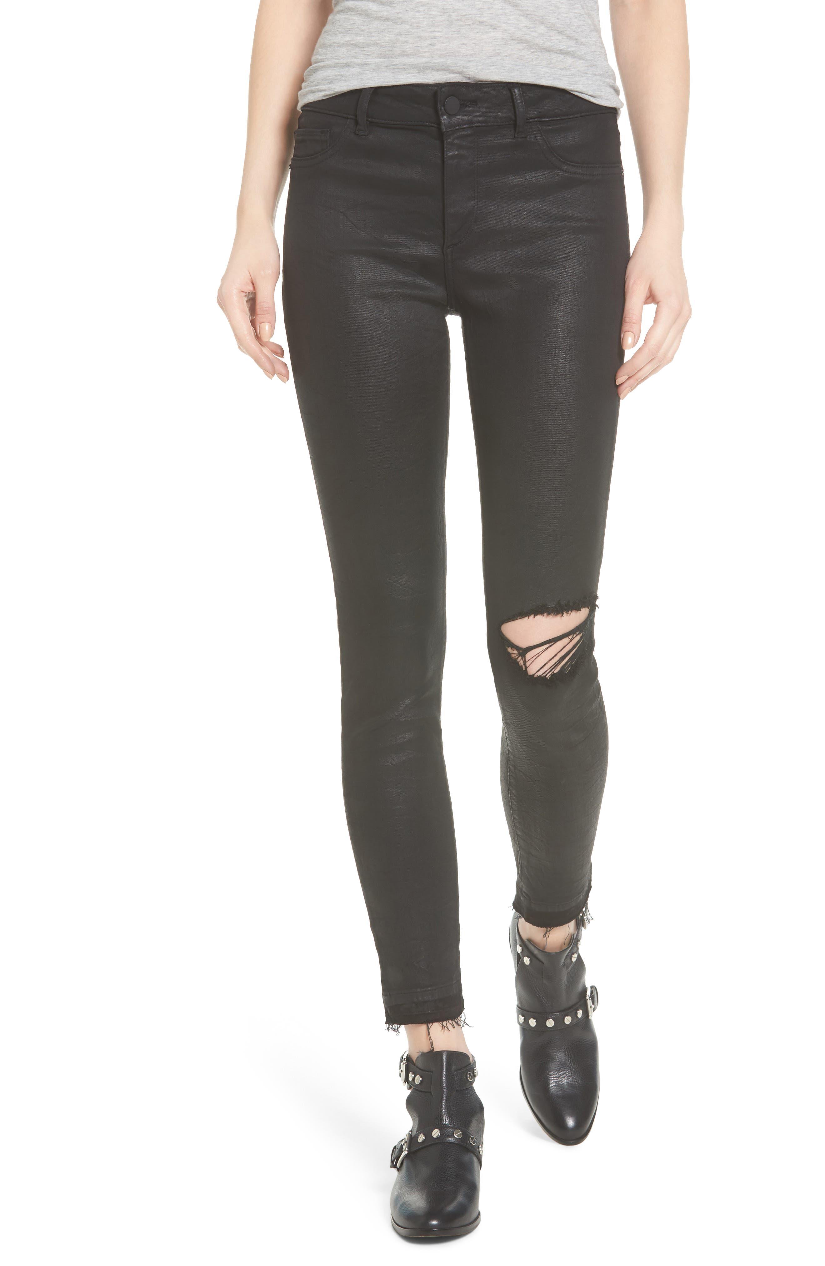 Margaux Instasculpt Ankle Skinny Jeans,                             Main thumbnail 1, color,                             001