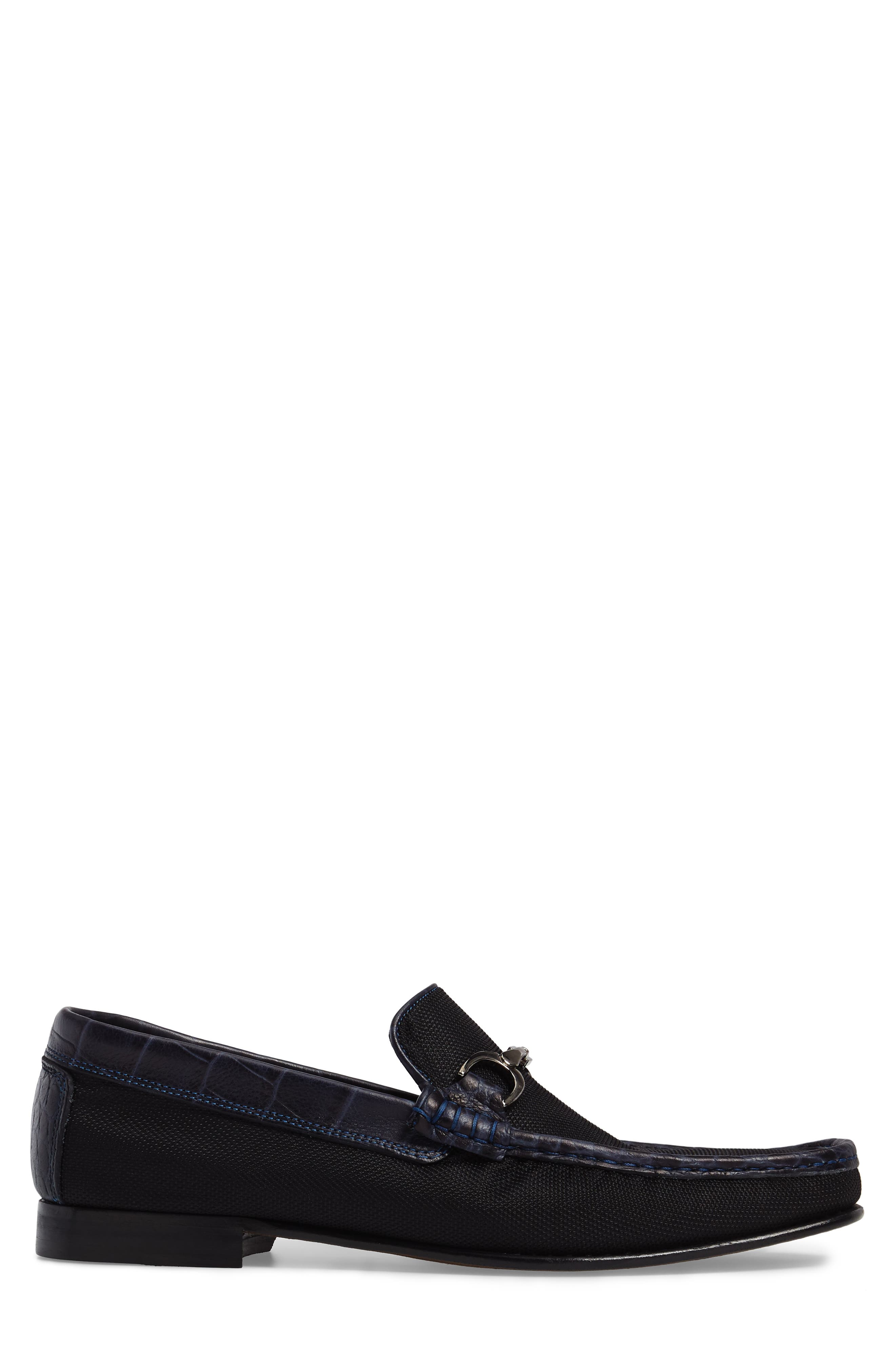 Darrin Embossed Loafer,                             Alternate thumbnail 3, color,                             001