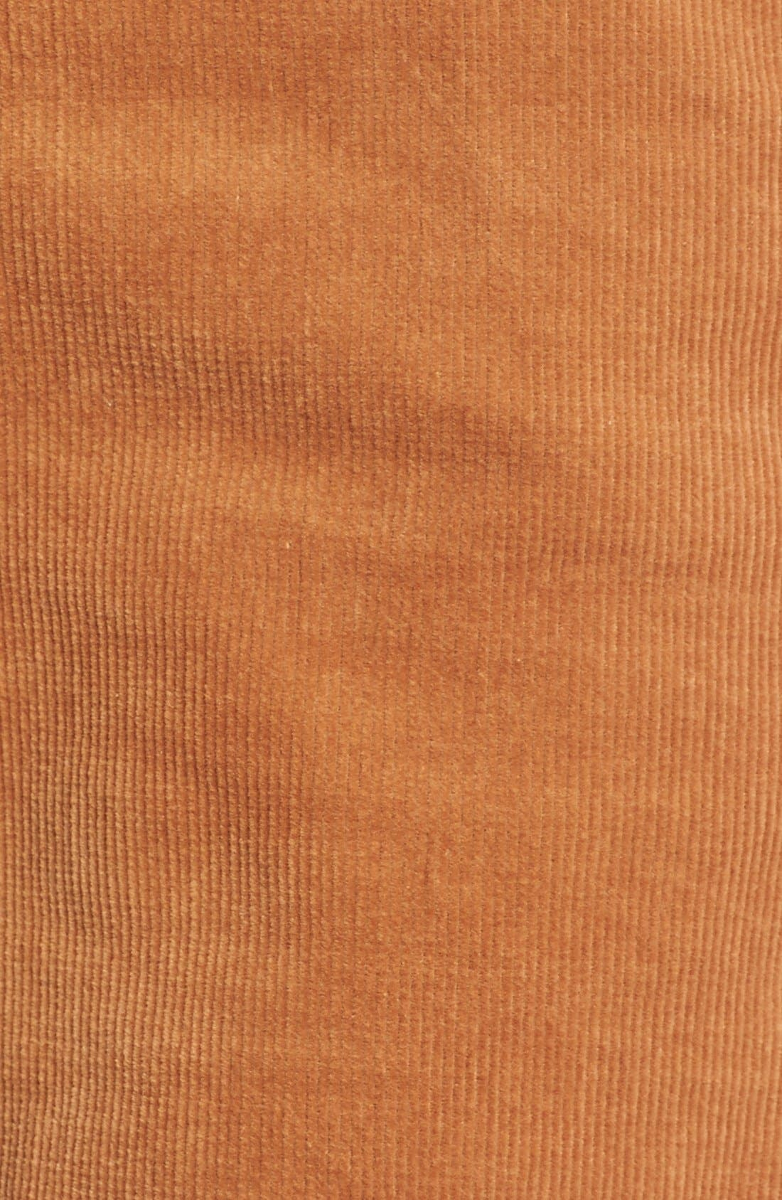 Corduroy Roll Cuff Shorts,                             Alternate thumbnail 5, color,                             200
