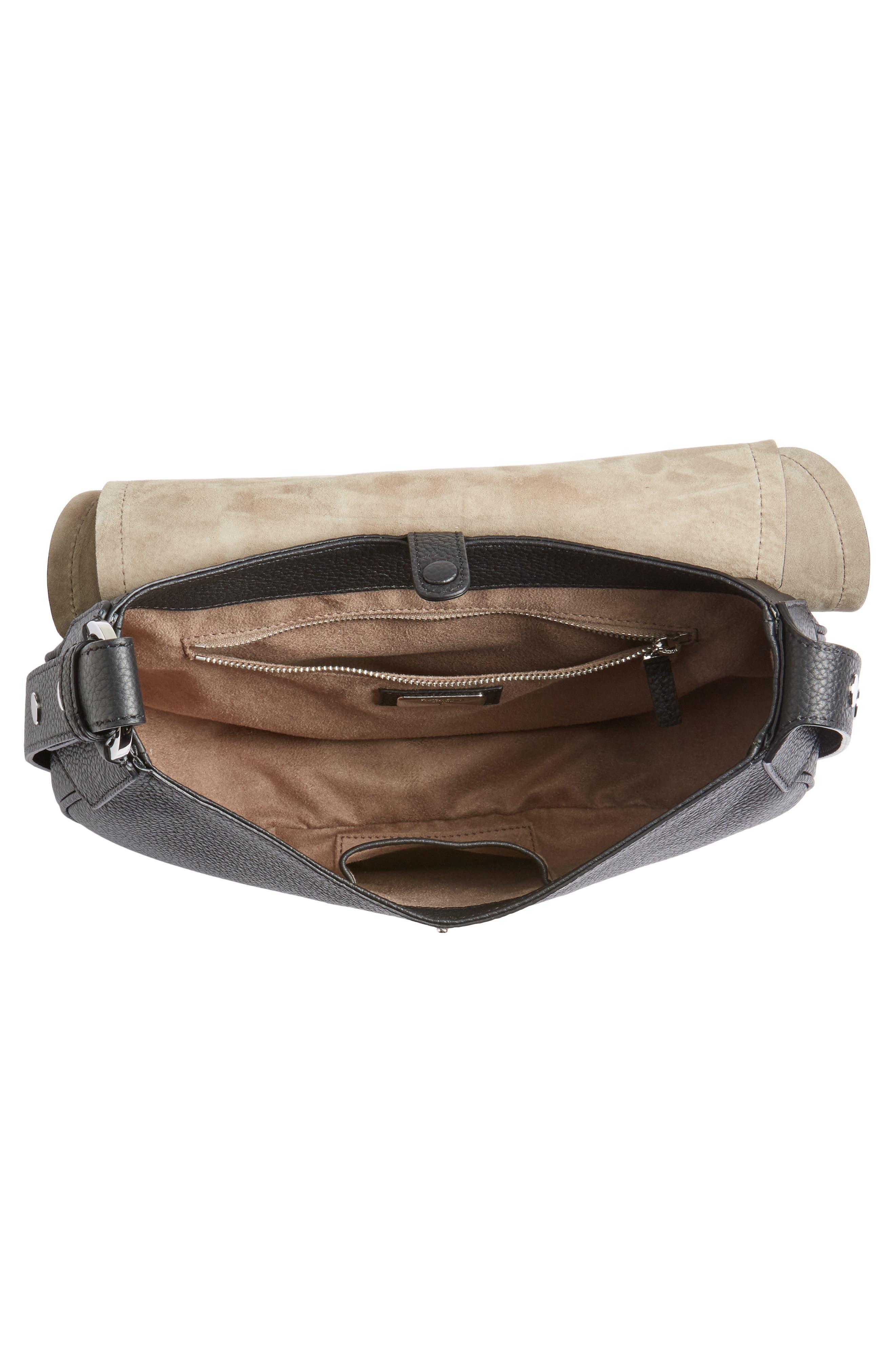 Small Valeria Leather Crossbody Bag,                             Alternate thumbnail 10, color,