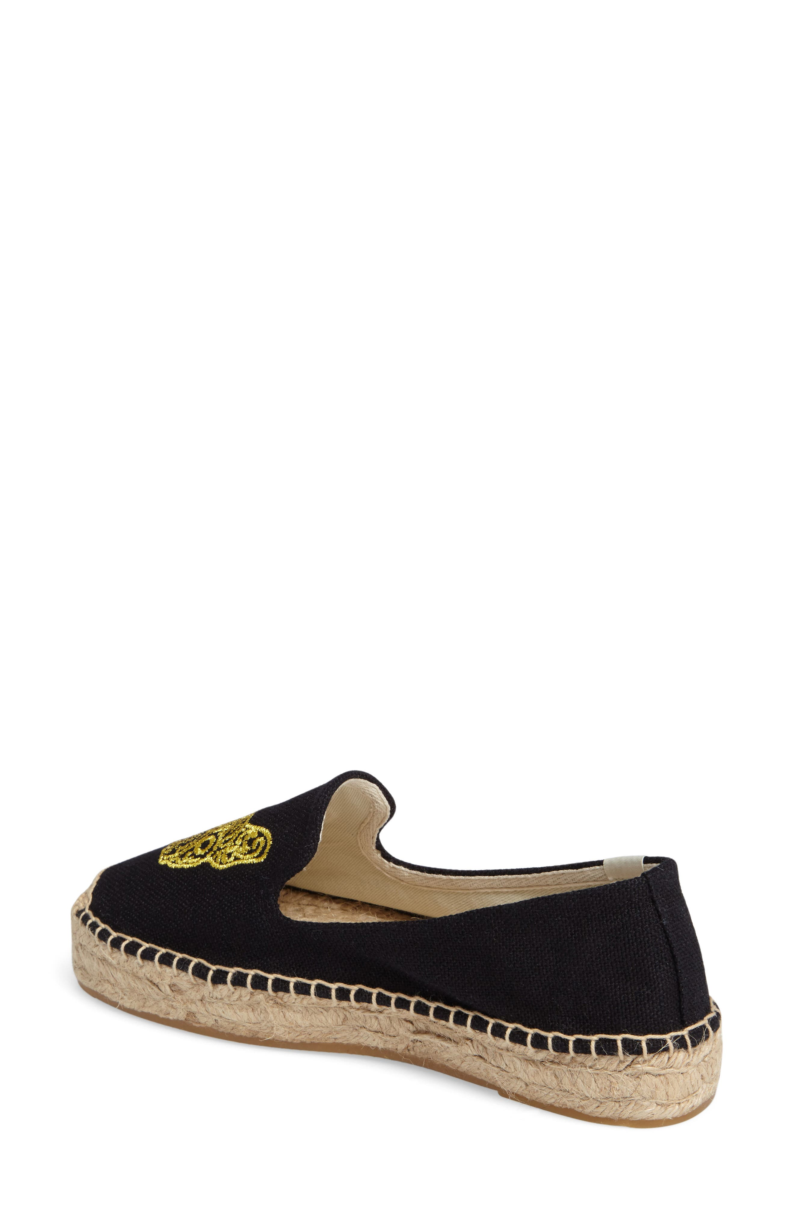 Frenchie Espadrille Loafer,                             Alternate thumbnail 2, color,                             006