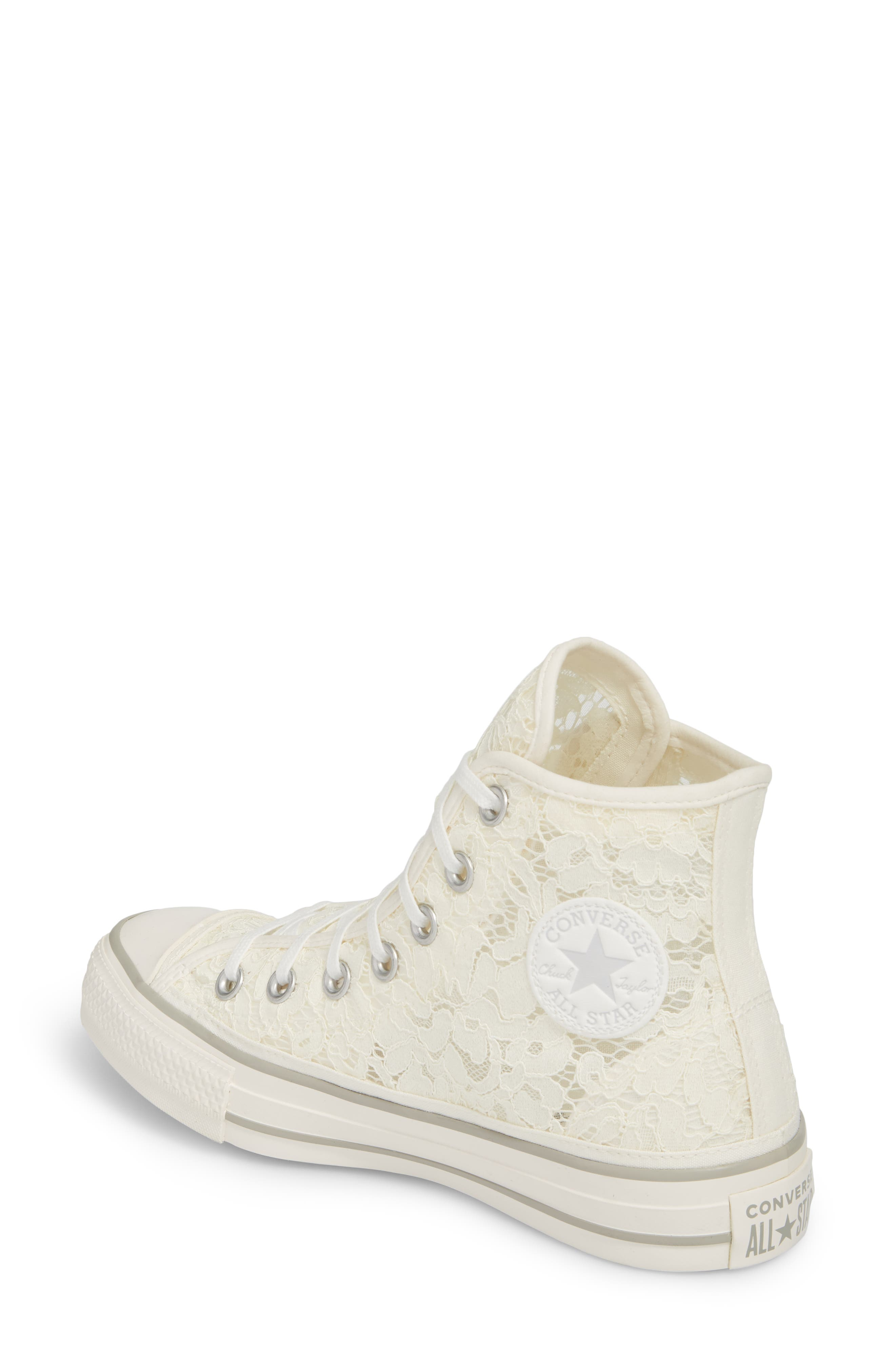 Chuck Taylor<sup>®</sup> All Star Lace High-Top Sneaker,                             Alternate thumbnail 4, color,