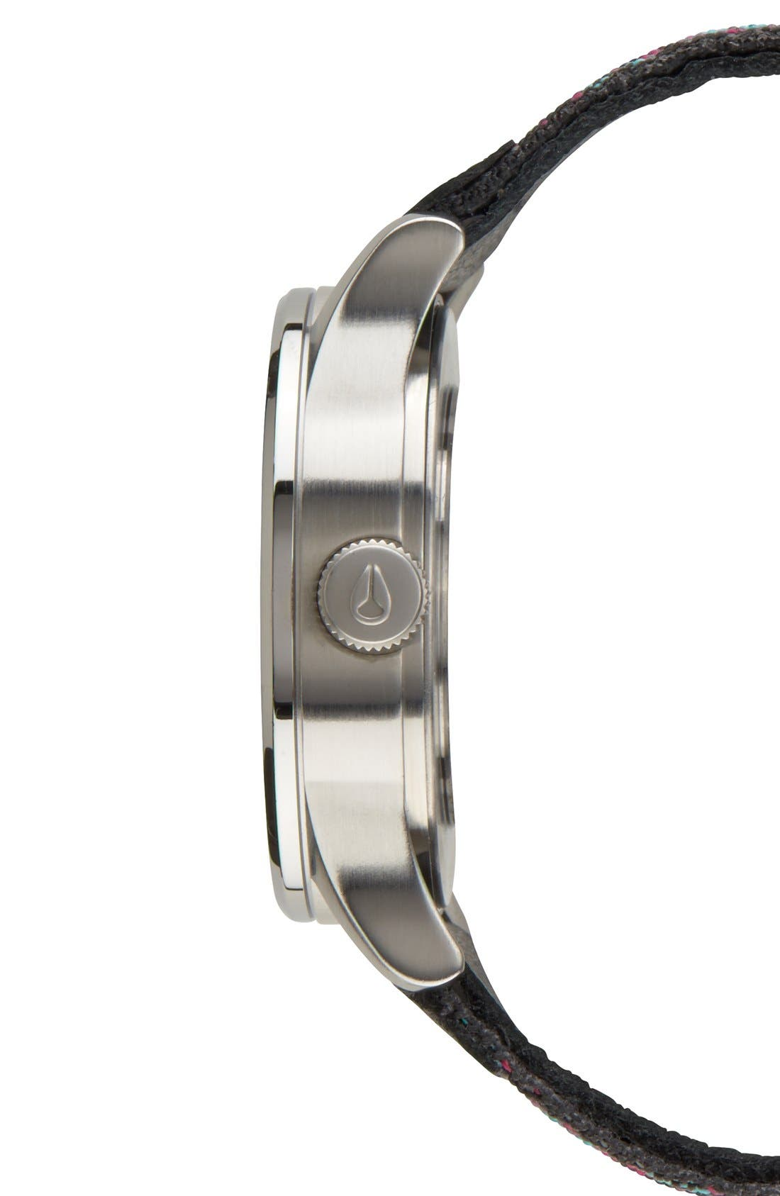 'The Sentry 38' Leather Strap Watch, 38mm,                             Alternate thumbnail 21, color,