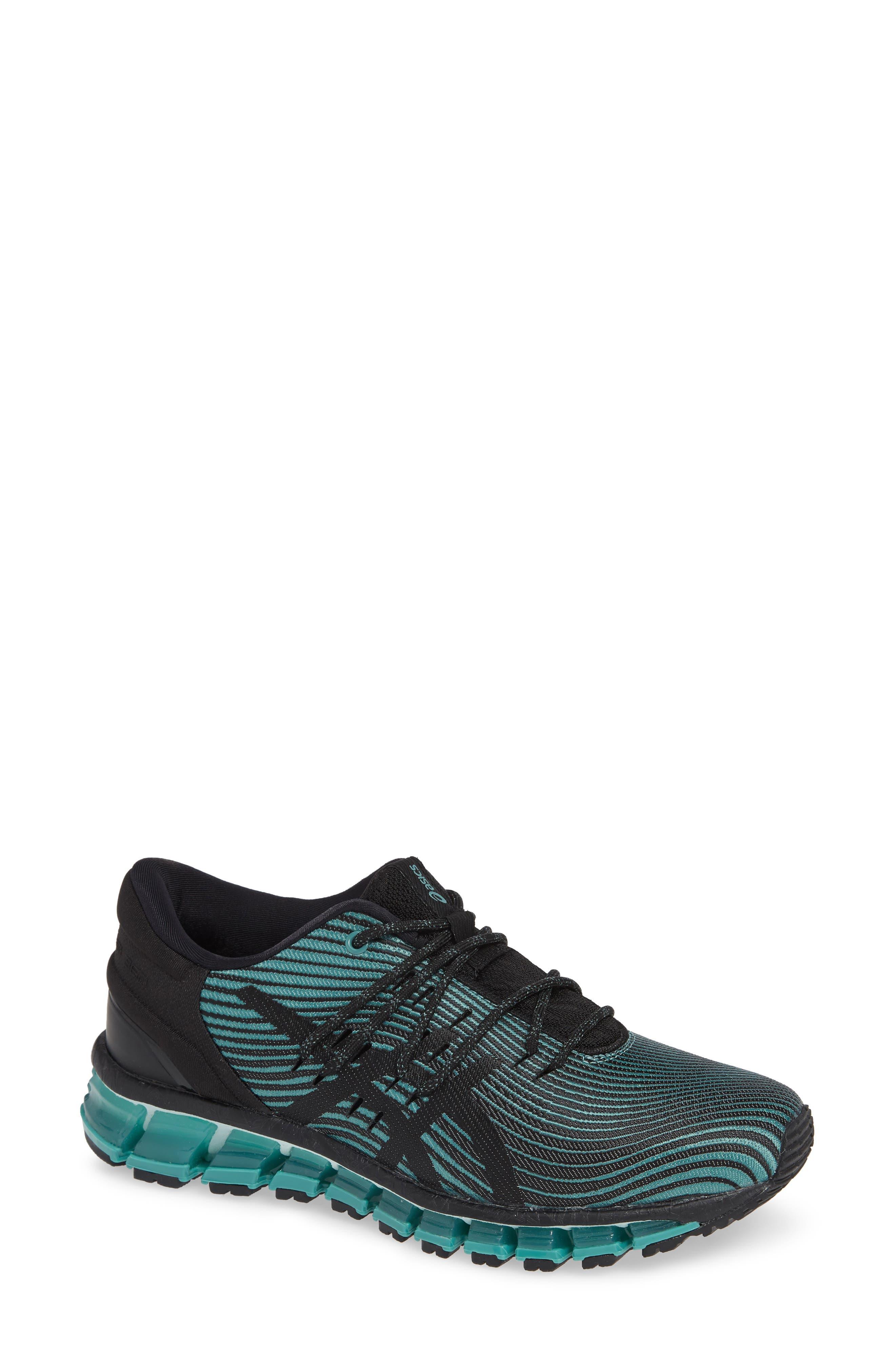 GEL Quantum 360 4 Running Shoe,                         Main,                         color, SAGE/ BLACK