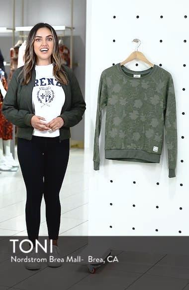 Sleek Leaf Kale Sweatshirt, sales video thumbnail