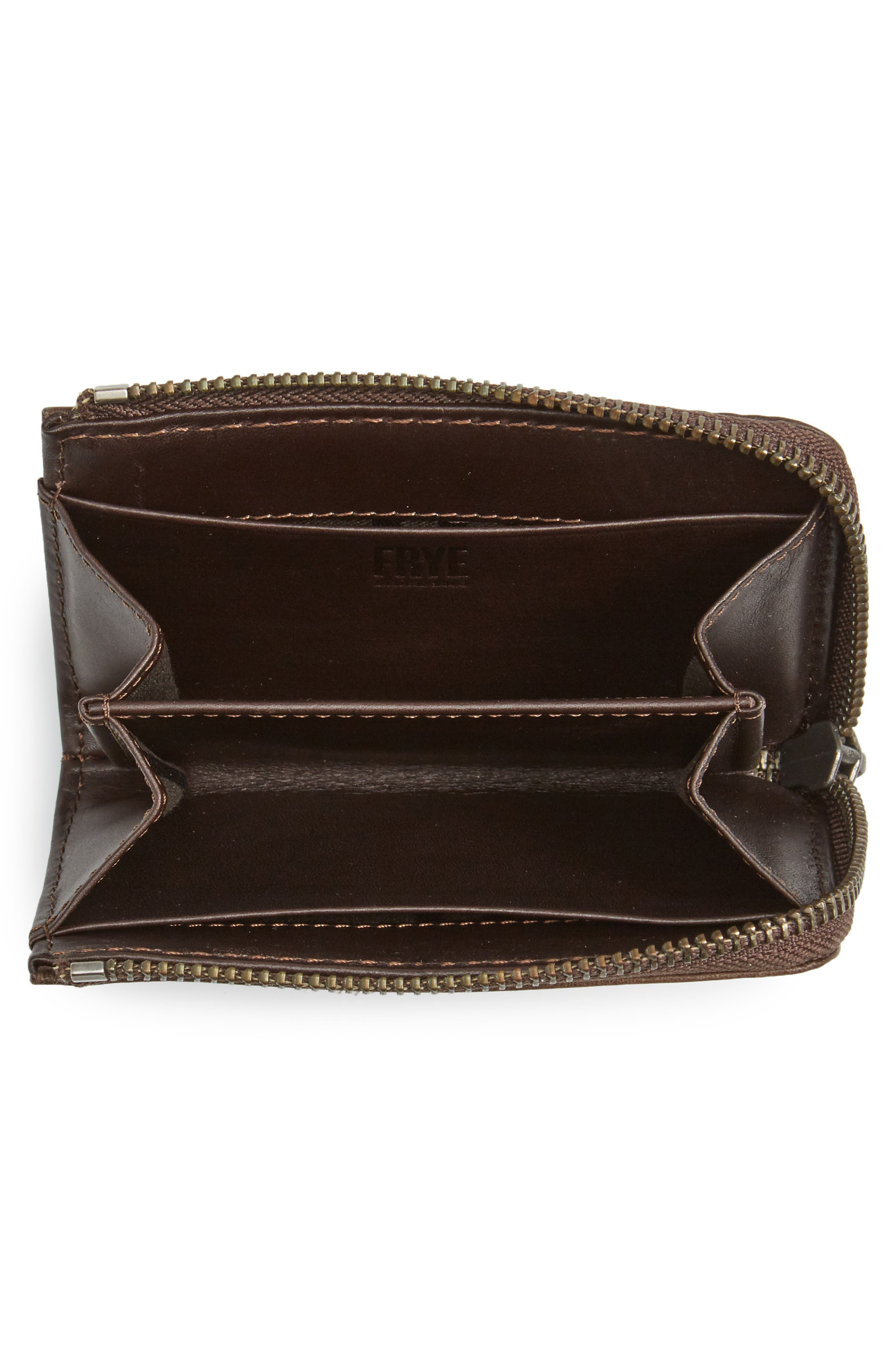 Small Melissa Leather Zip Wallet,                             Alternate thumbnail 2, color,                             203