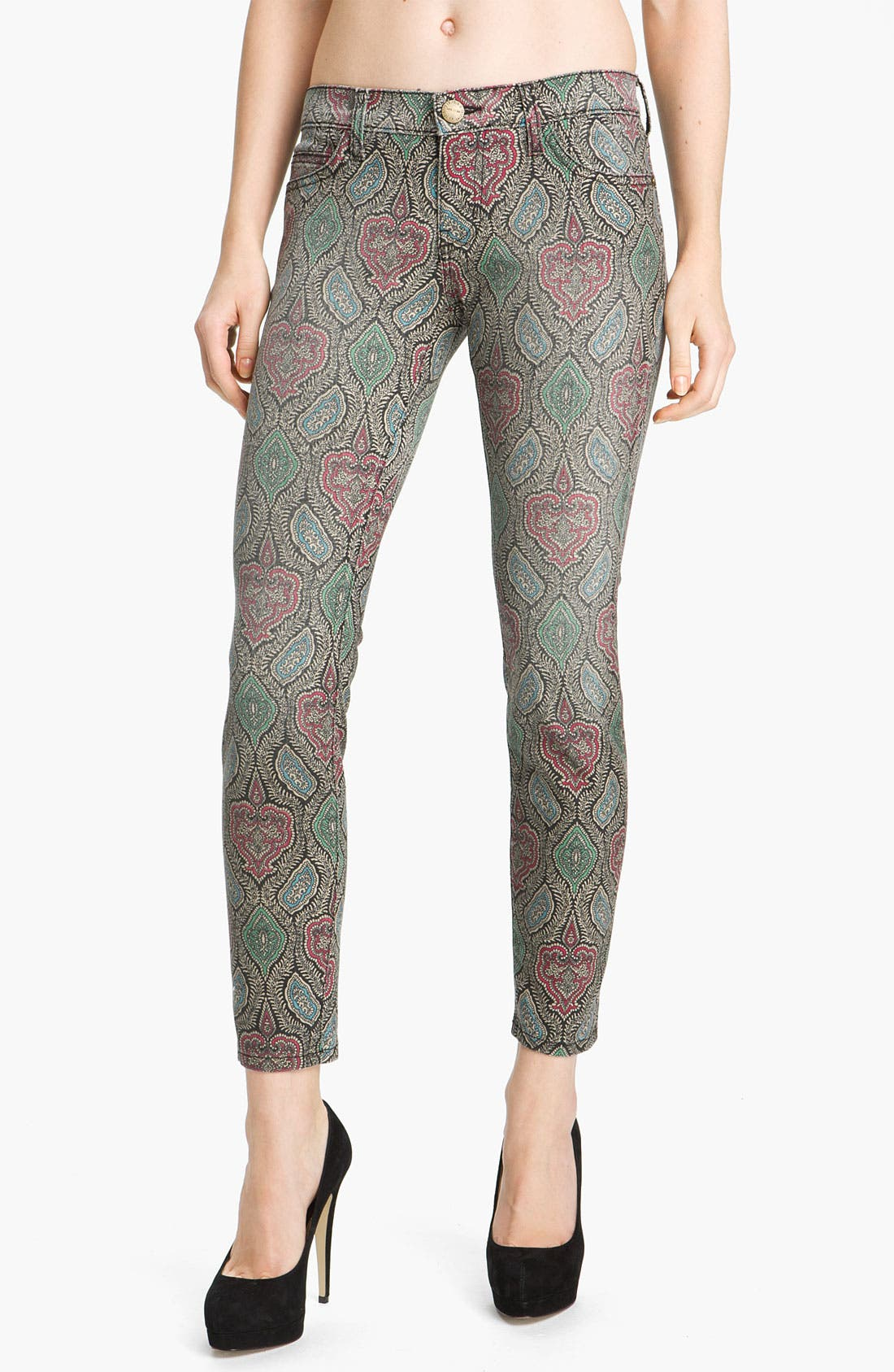 CURRENT/ELLIOTT 'The Stiletto' Skinny Jeans, Main, color, 300