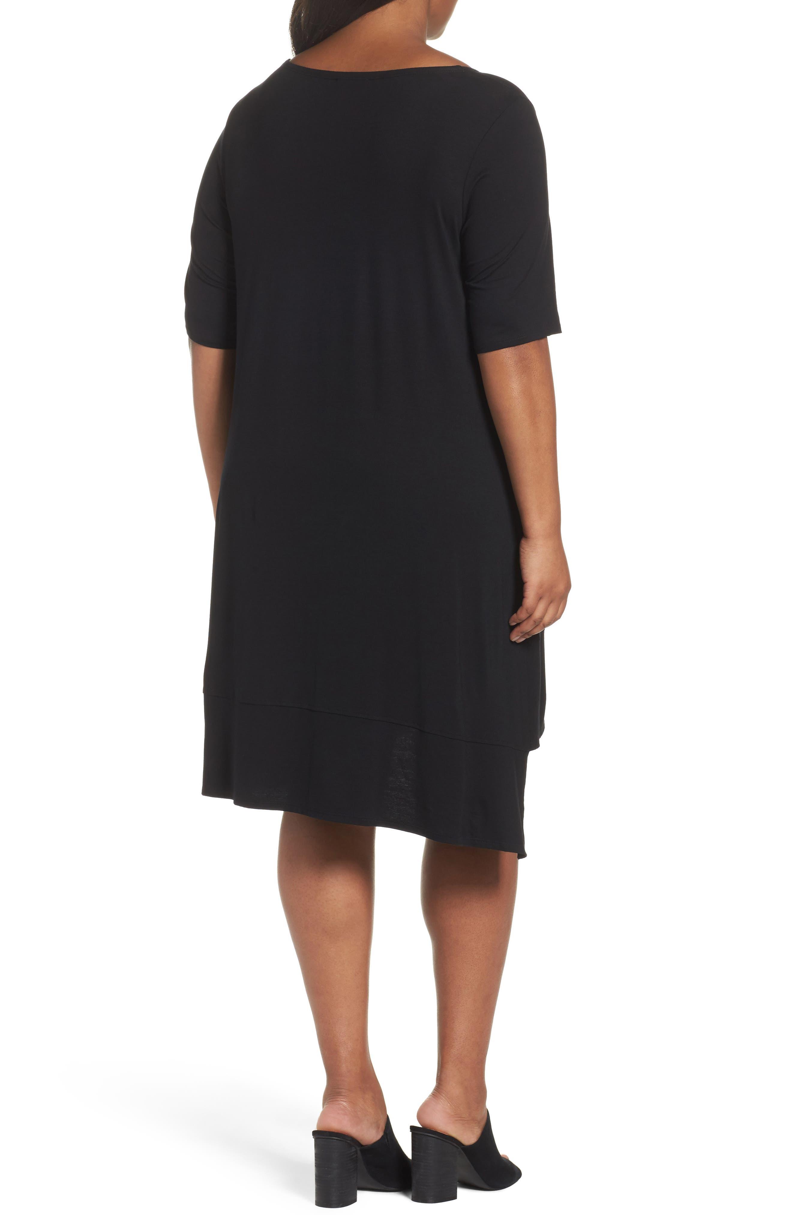 Jersey Shift Dress,                             Alternate thumbnail 5, color,