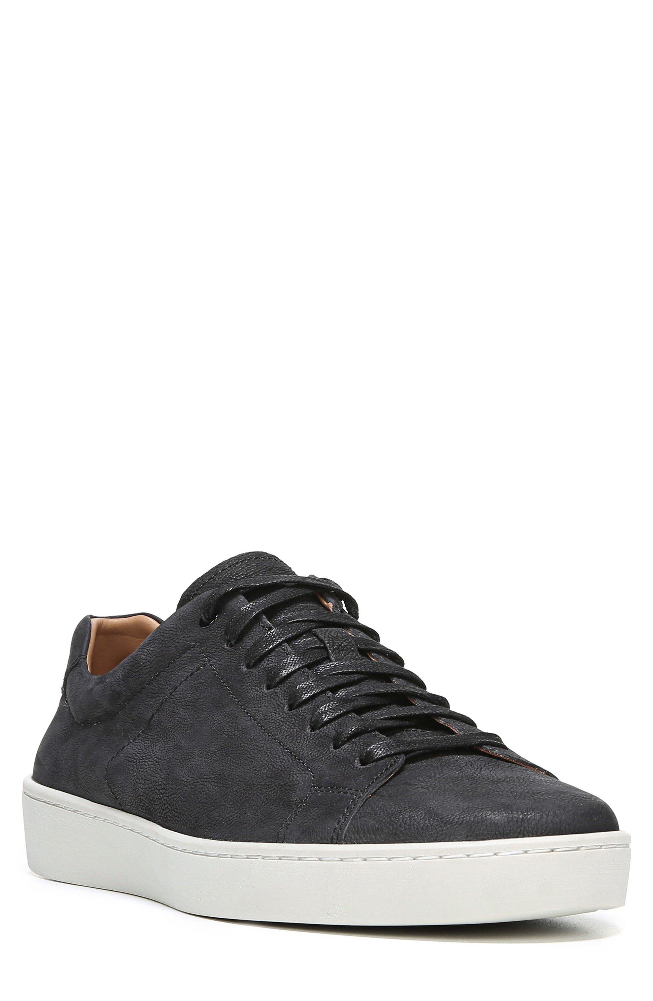 Slater Sneaker,                             Main thumbnail 1, color,                             BLACK NUBUCK