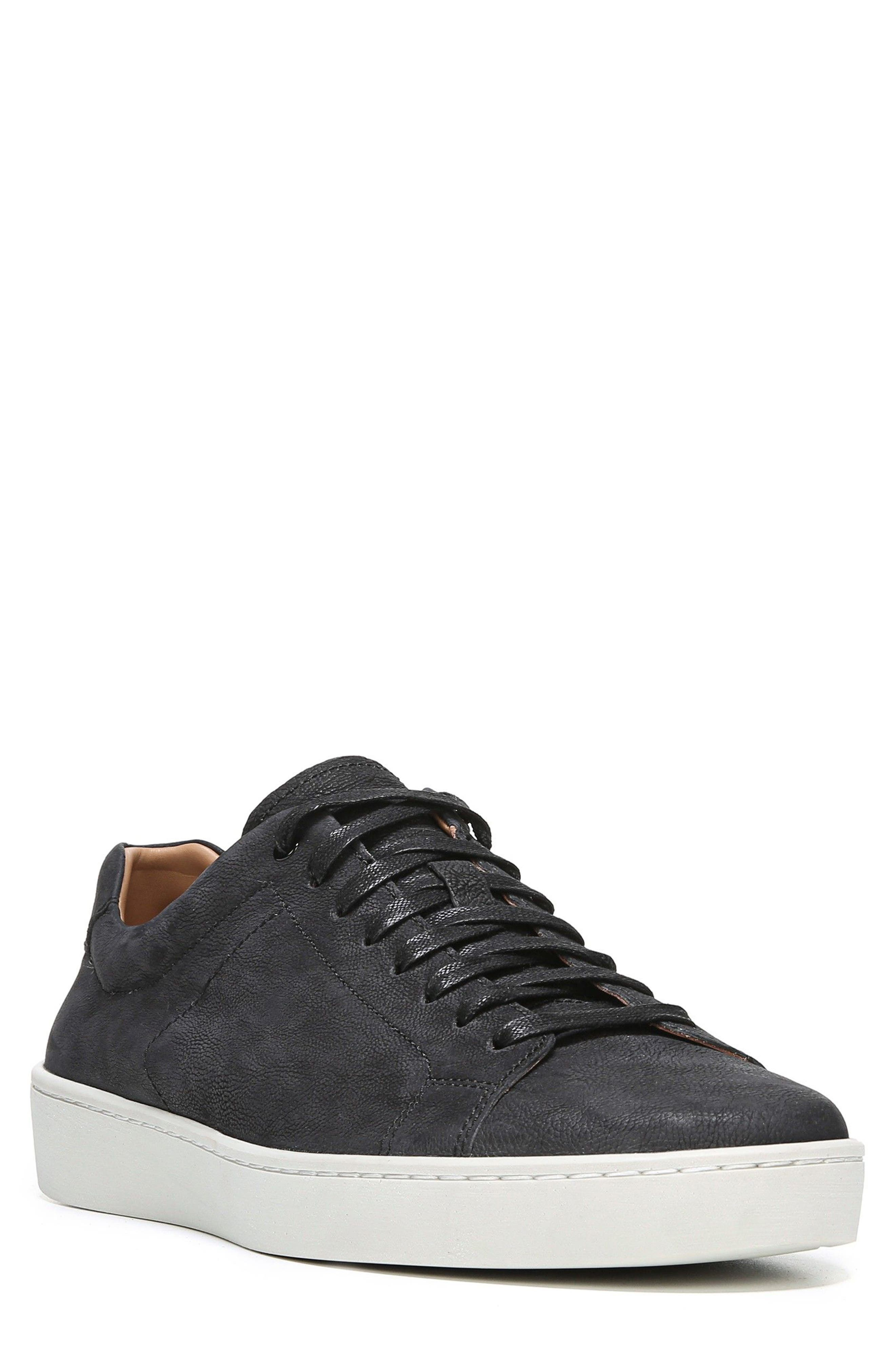 Slater Sneaker,                         Main,                         color, BLACK NUBUCK