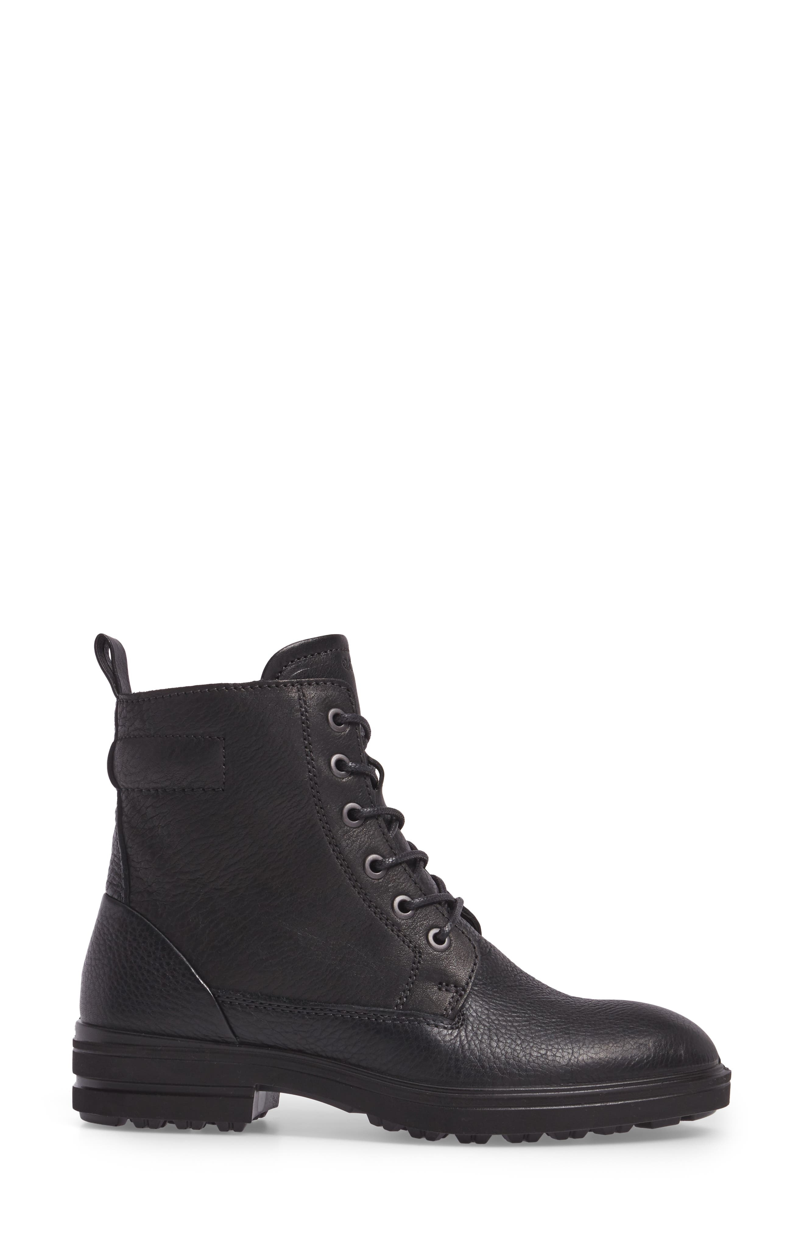 Zoe Lace-Up Boot,                             Alternate thumbnail 3, color,                             001