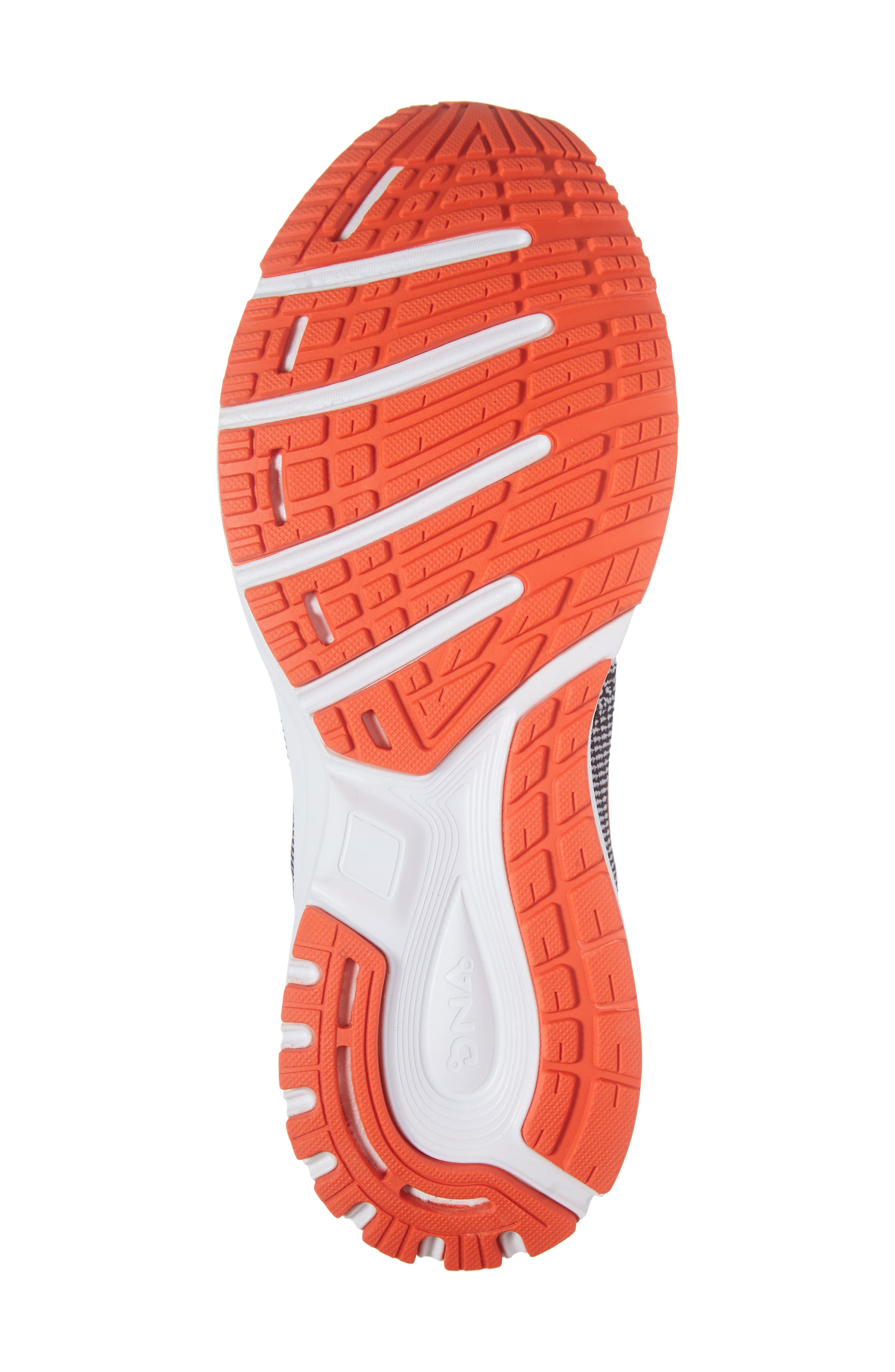 Revel 2 Running Shoe,                             Alternate thumbnail 6, color,                             BLACK/ LIGHT GREY/ ORANGE