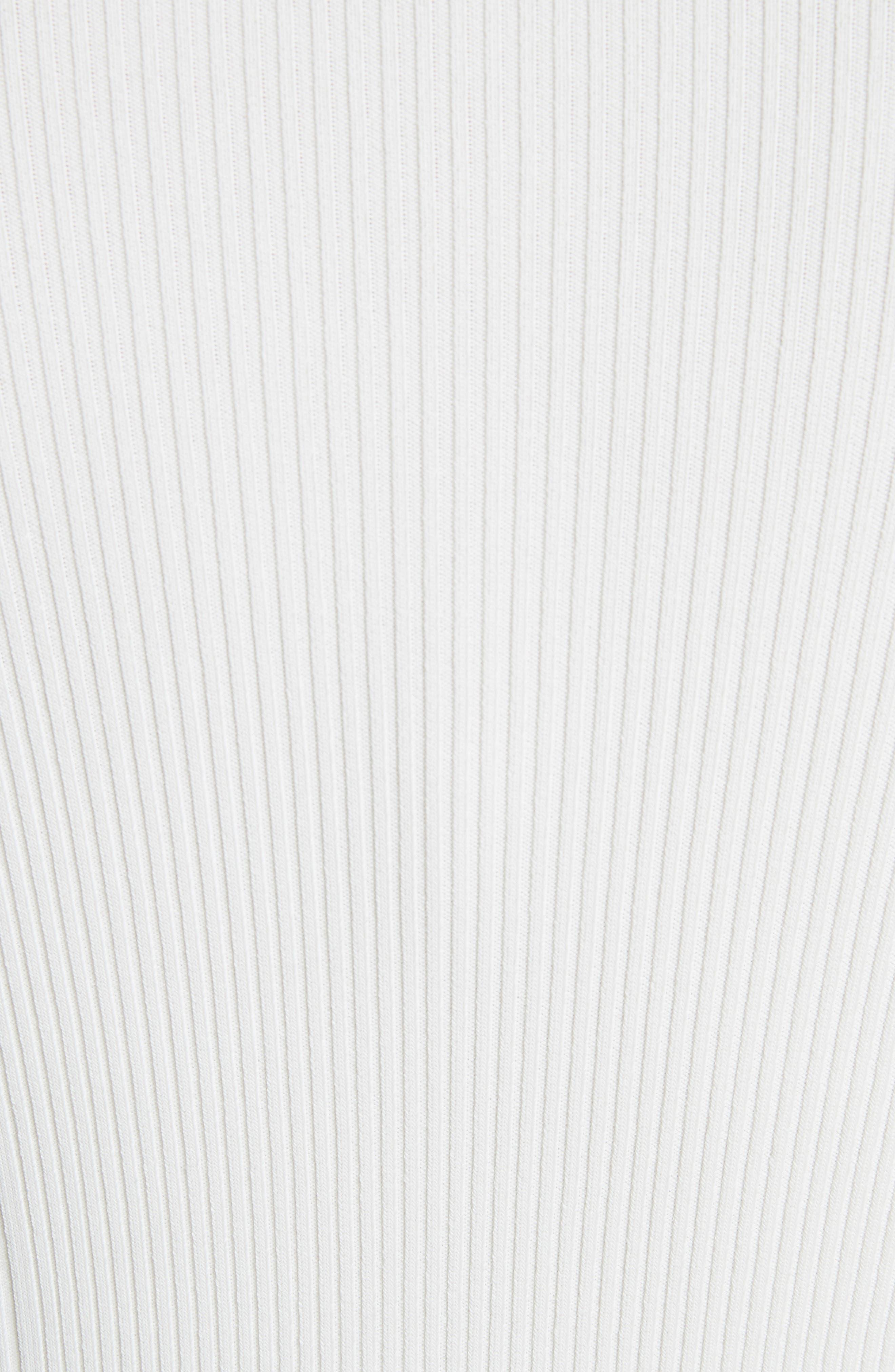 Bra Strap Sleeve Body-Con Dress,                             Alternate thumbnail 5, color,