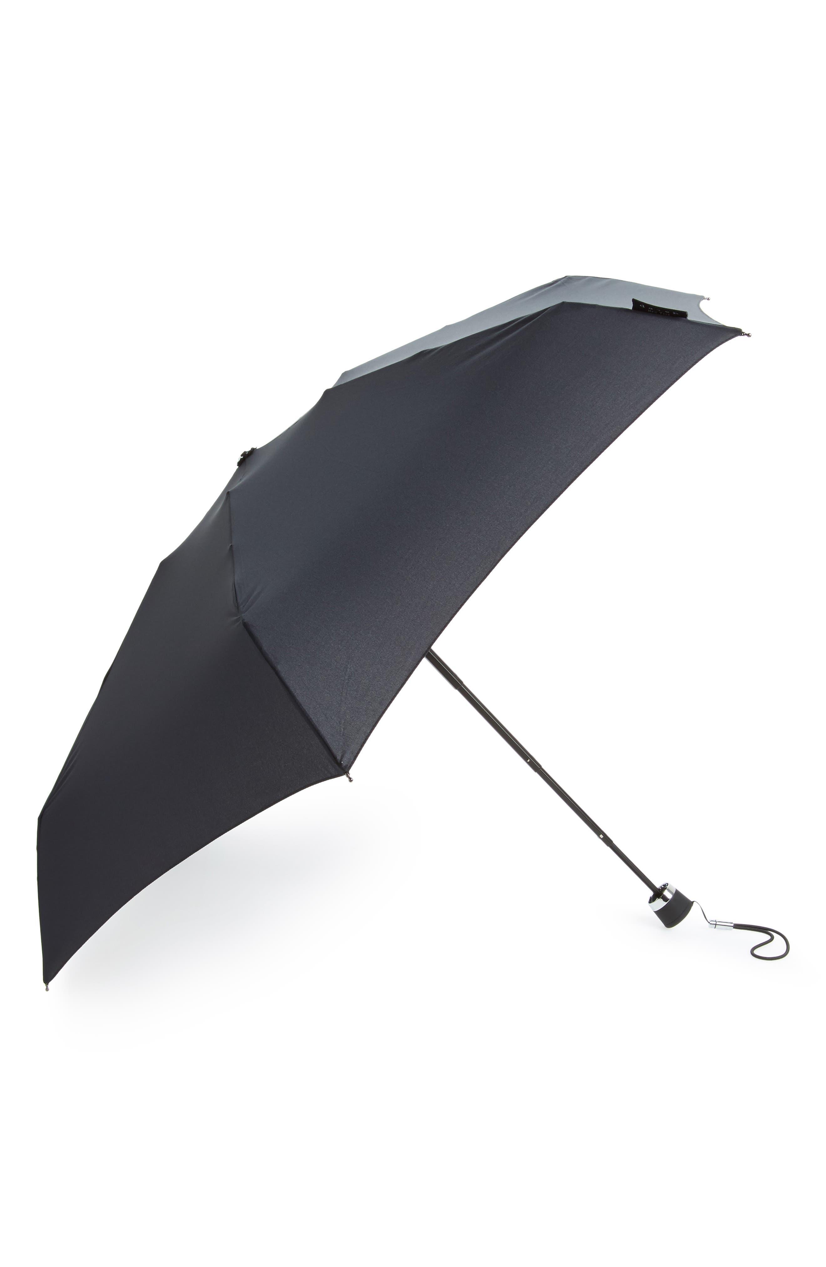 Mini Umbrella,                             Main thumbnail 1, color,                             CLASSIC BLACK
