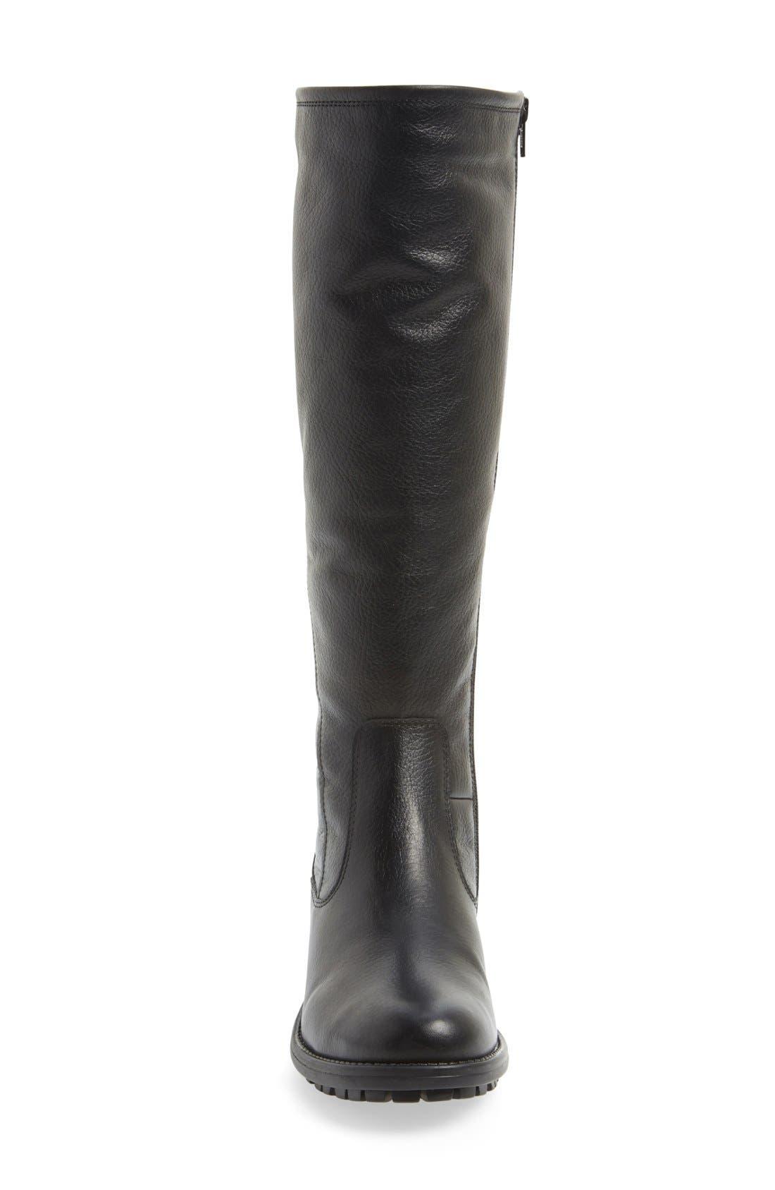 'Andrea' Waterproof Boot,                             Alternate thumbnail 4, color,                             004