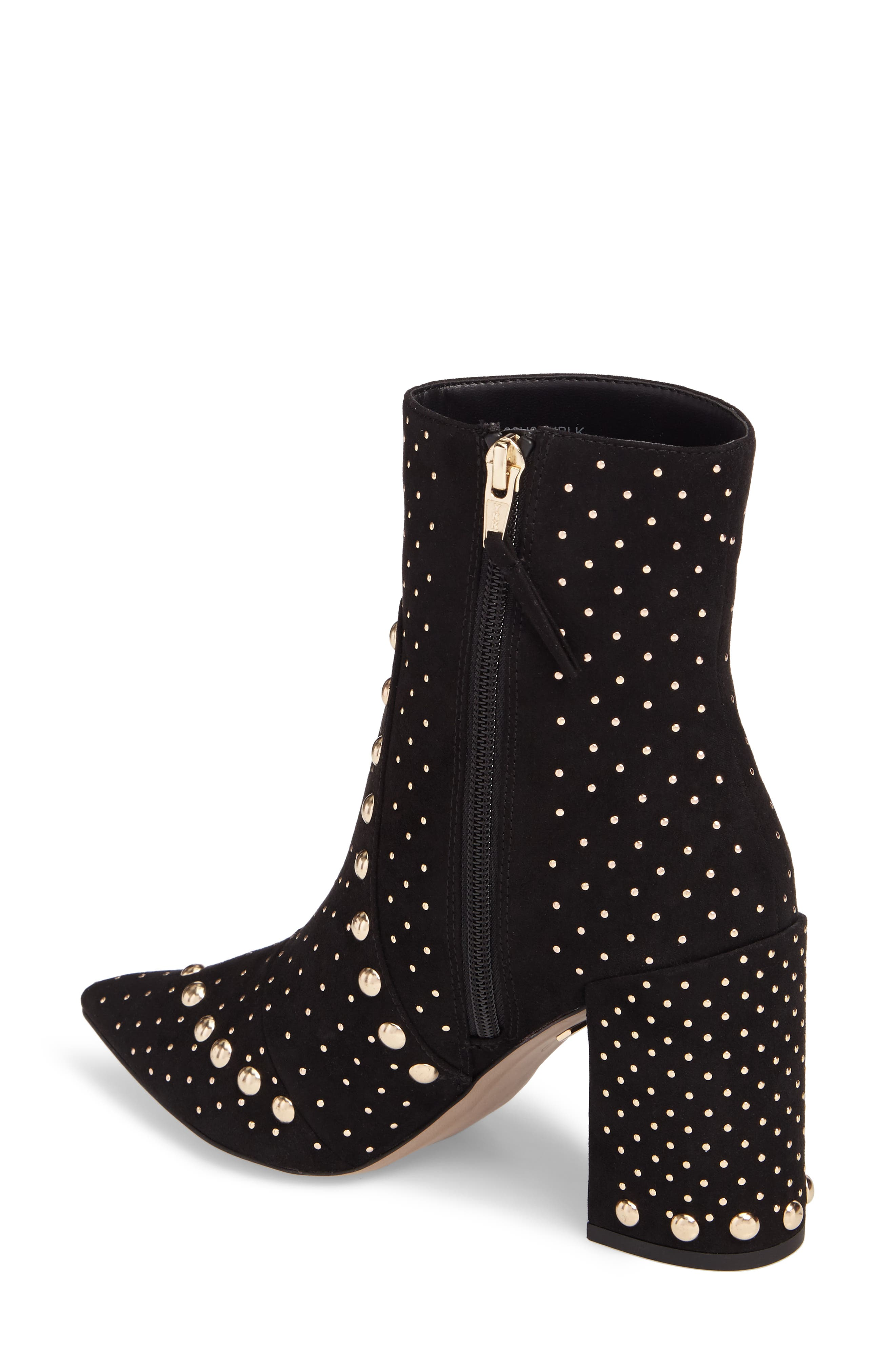 Studded Bootie,                             Alternate thumbnail 2, color,                             001
