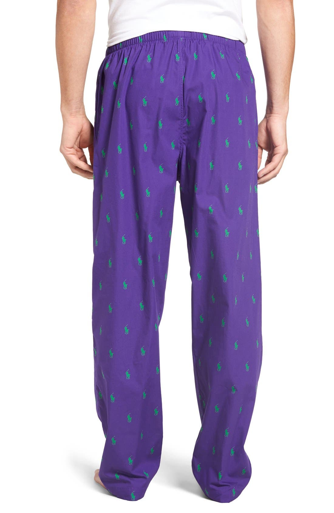 Cotton Lounge Pants,                             Alternate thumbnail 23, color,