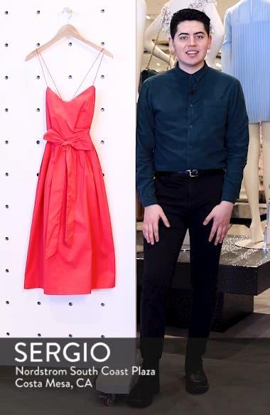 Strappy Fit & Flare Midi Dress, sales video thumbnail