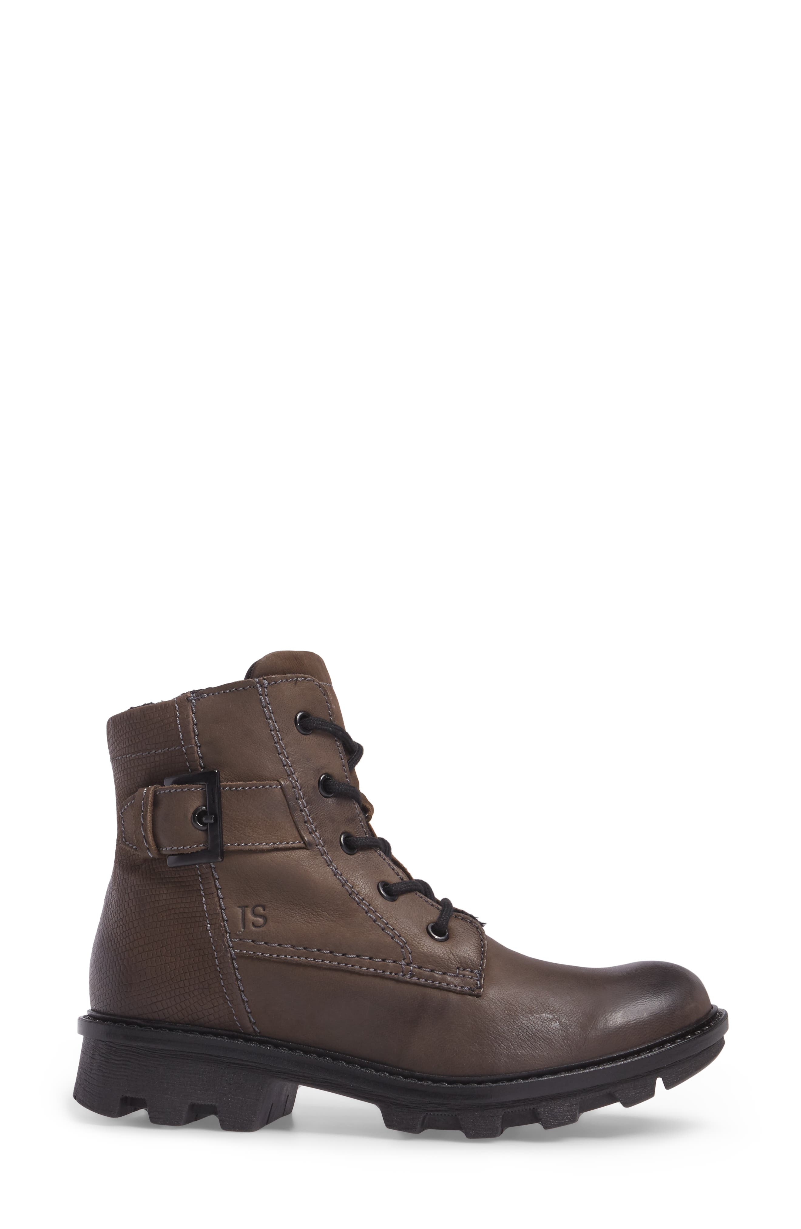 Marilyn Boot,                             Alternate thumbnail 3, color,                             ANTHRACITE LEATHER