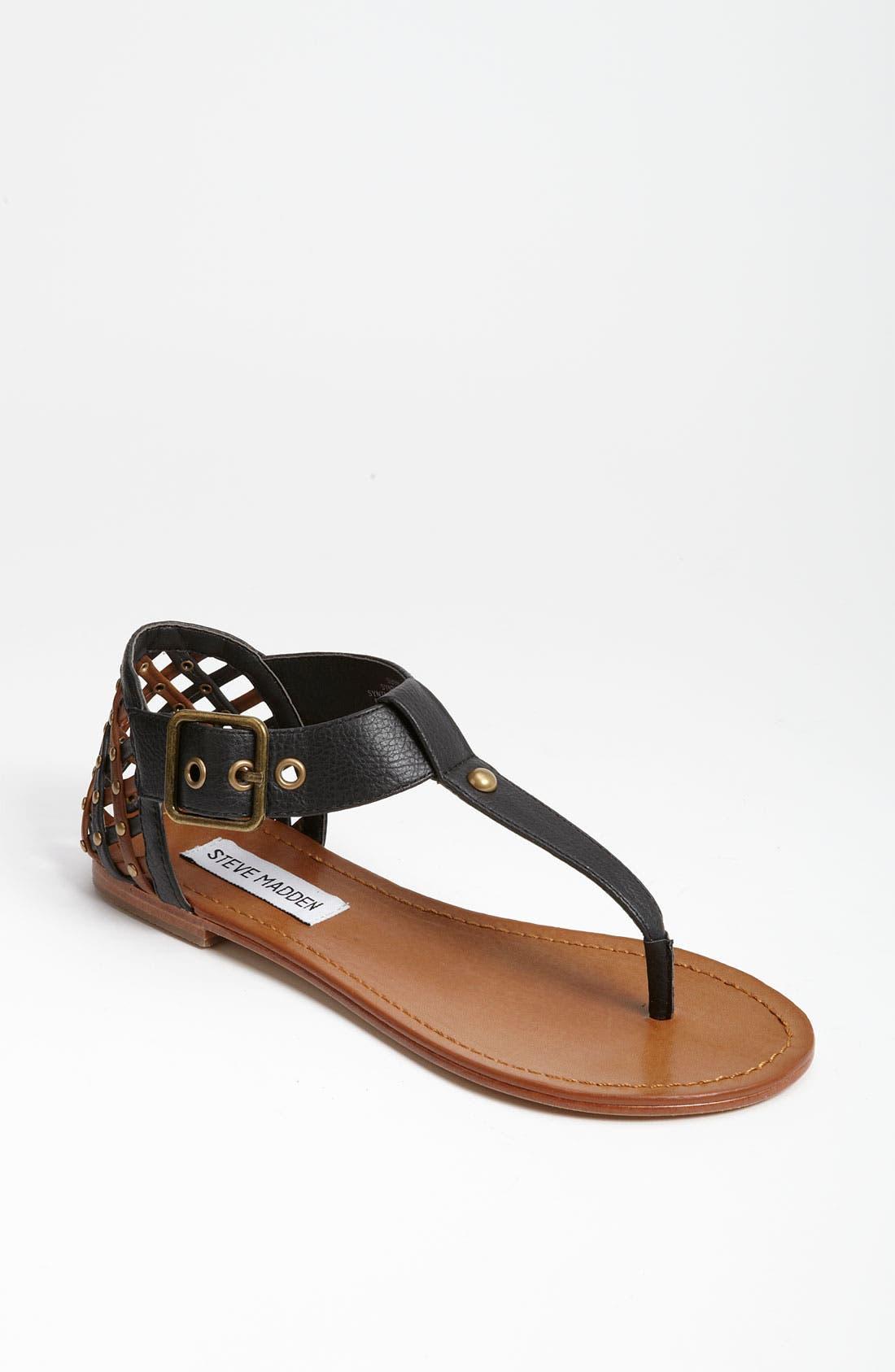 'Sutttle' Sandal,                         Main,                         color, 015