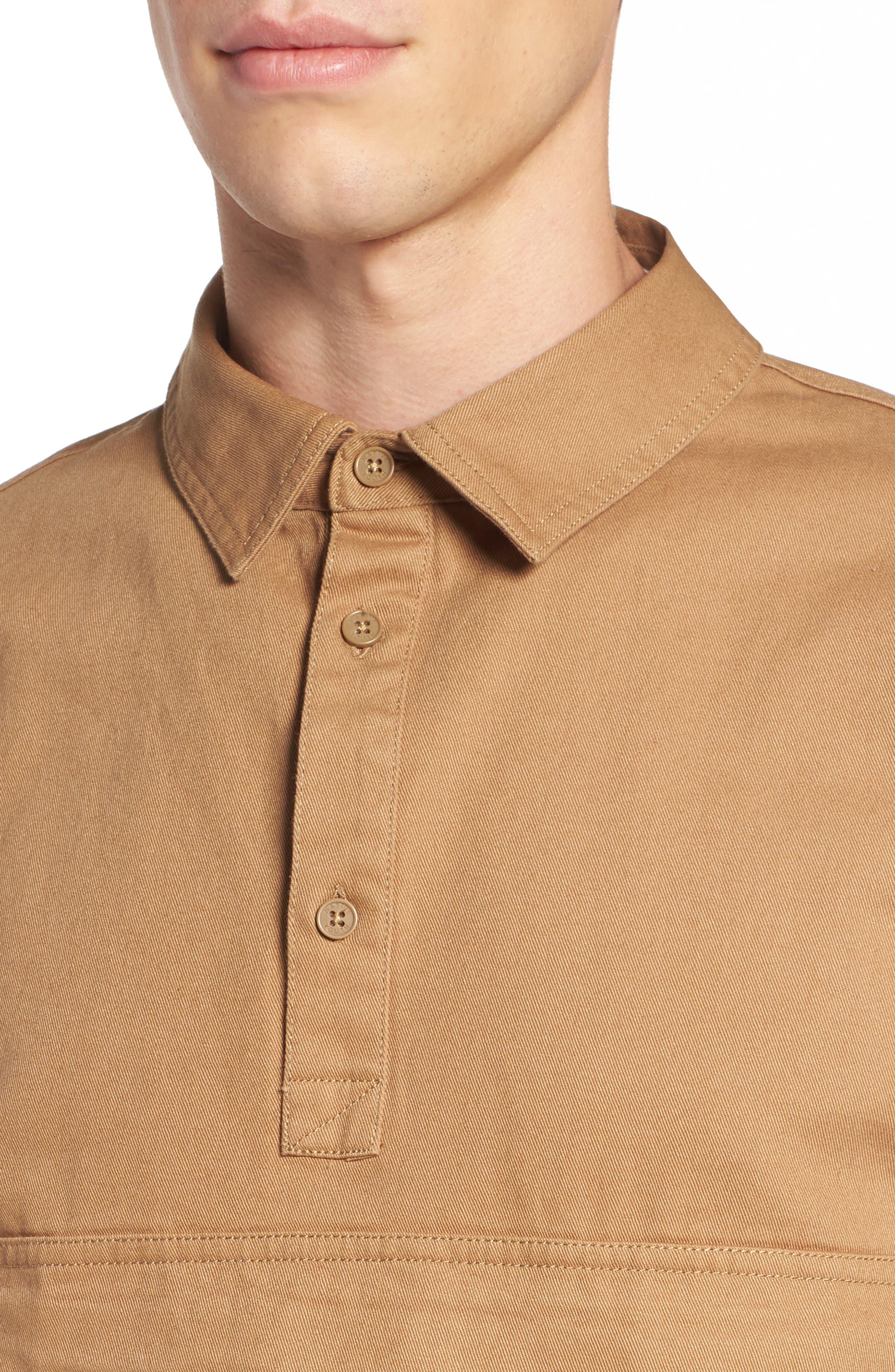 Woodside Twill Shirt,                             Alternate thumbnail 4, color,                             250