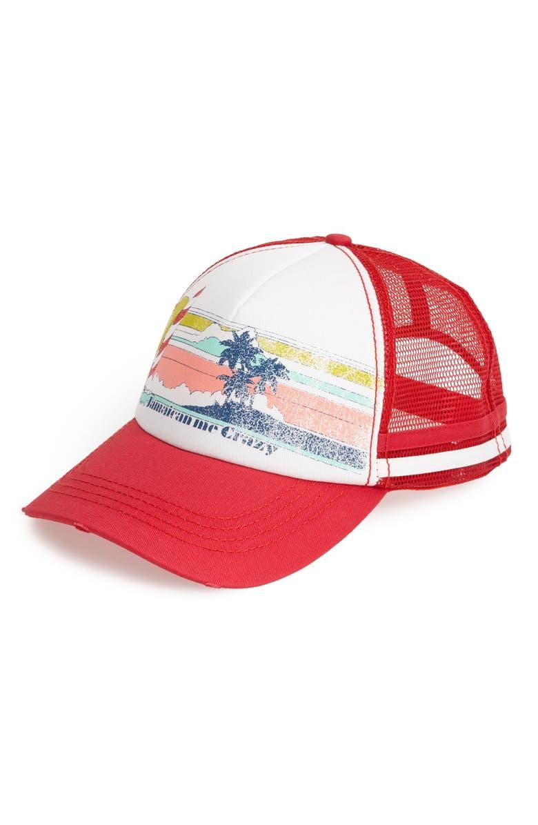 Billabong  Jamaican Love  Trucker Hat  83727ea4336d