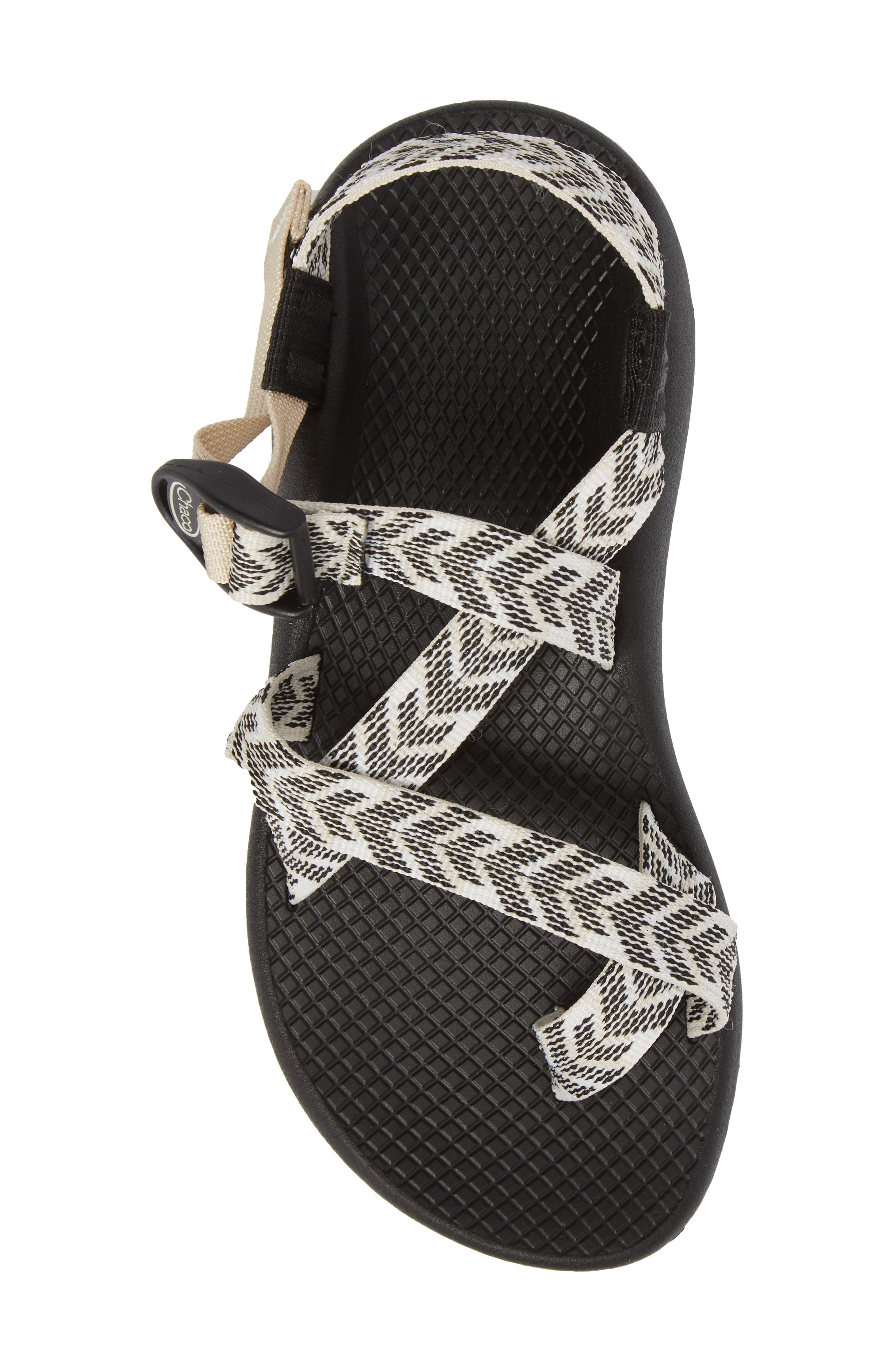 Z/2 Classic Sport Sandal,                             Alternate thumbnail 5, color,                             TRINE BLACK / WHITE