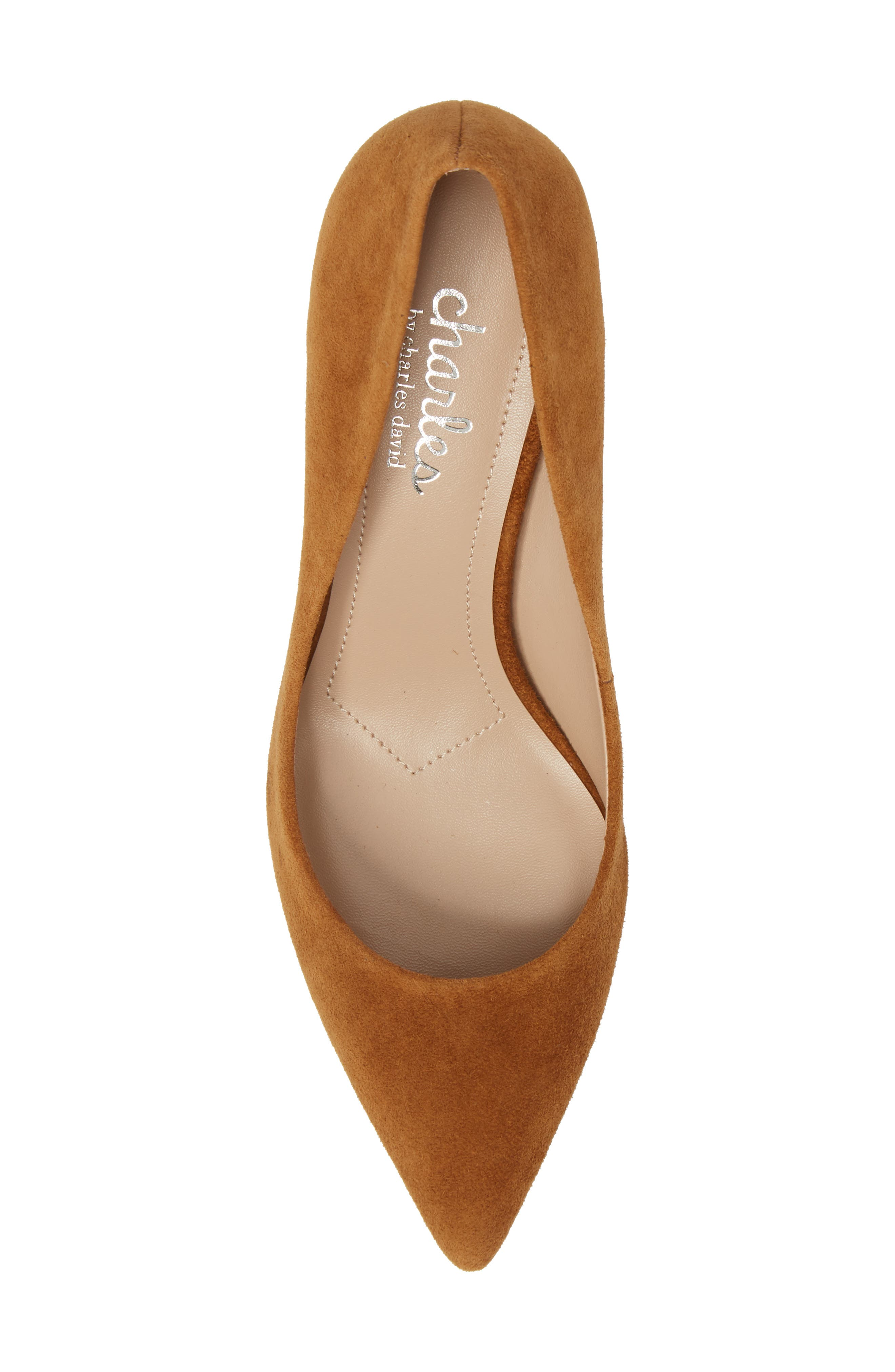 Addie Pump,                             Alternate thumbnail 5, color,                             AMBER SUEDE