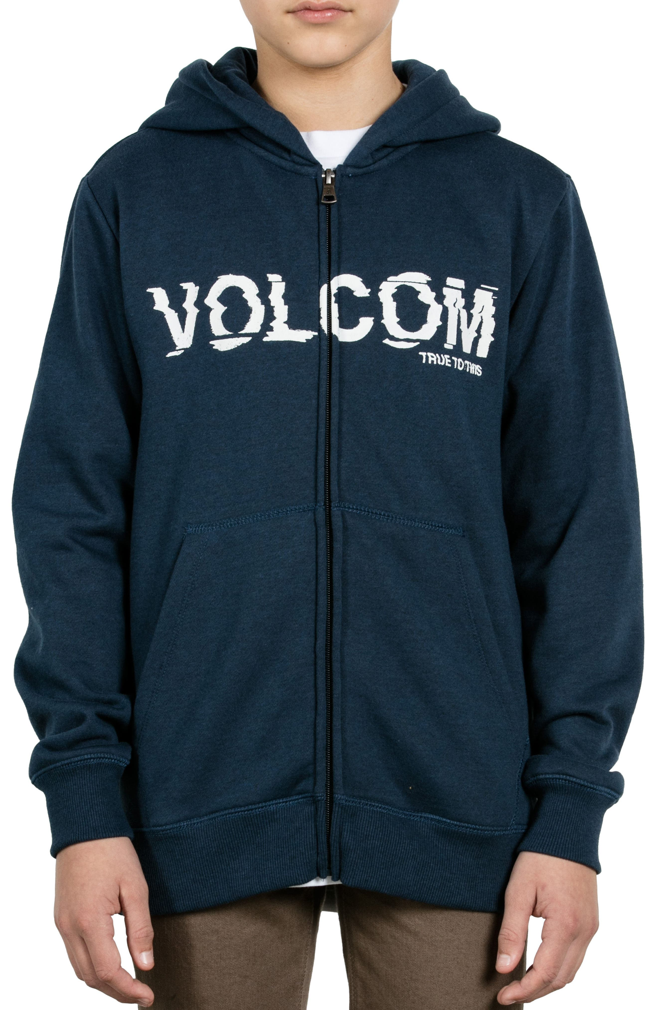 Supply Stone Graphic Zip Hoodie,                             Main thumbnail 1, color,