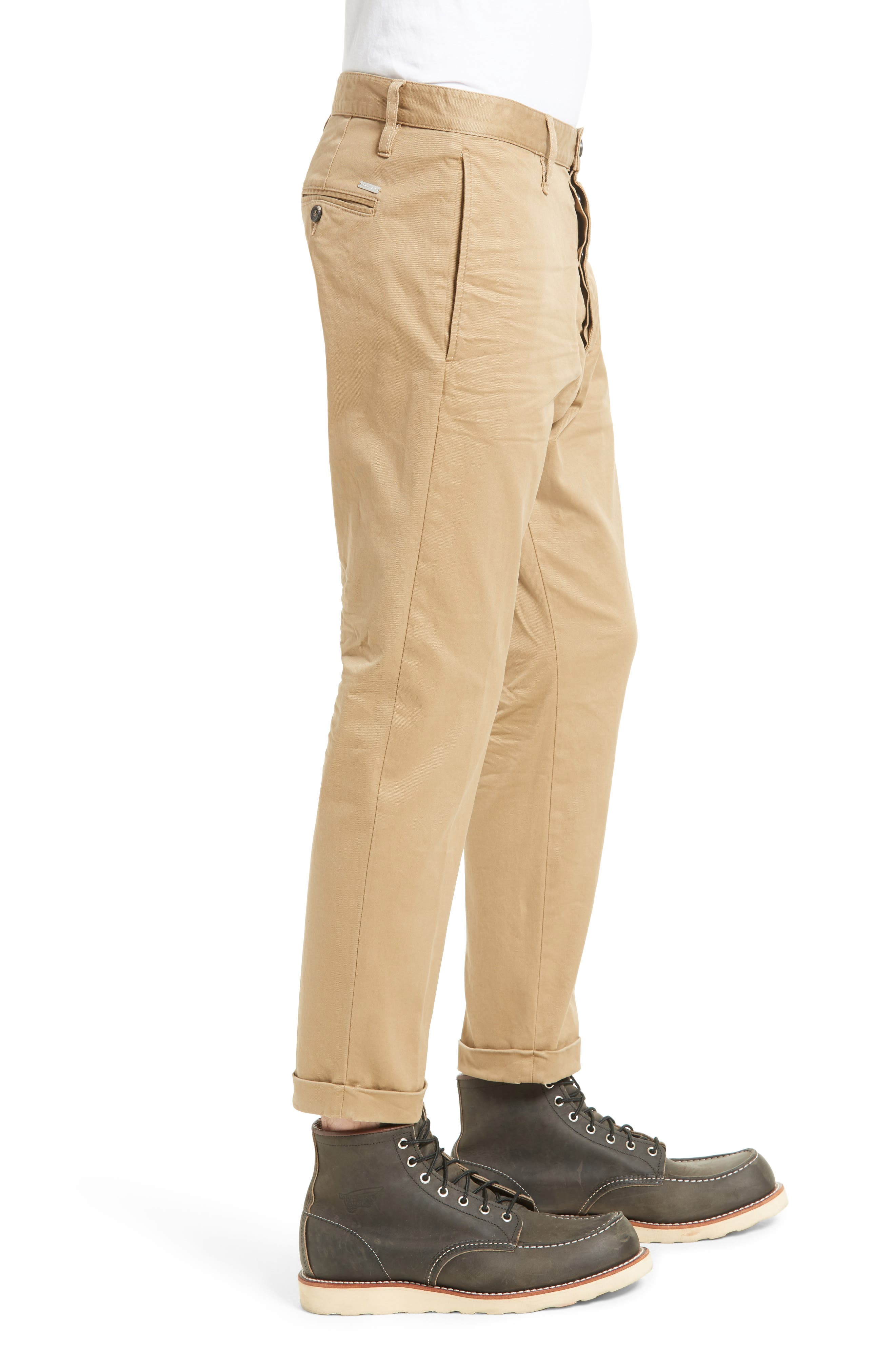 Roll Cuff Chinos,                             Alternate thumbnail 3, color,                             250