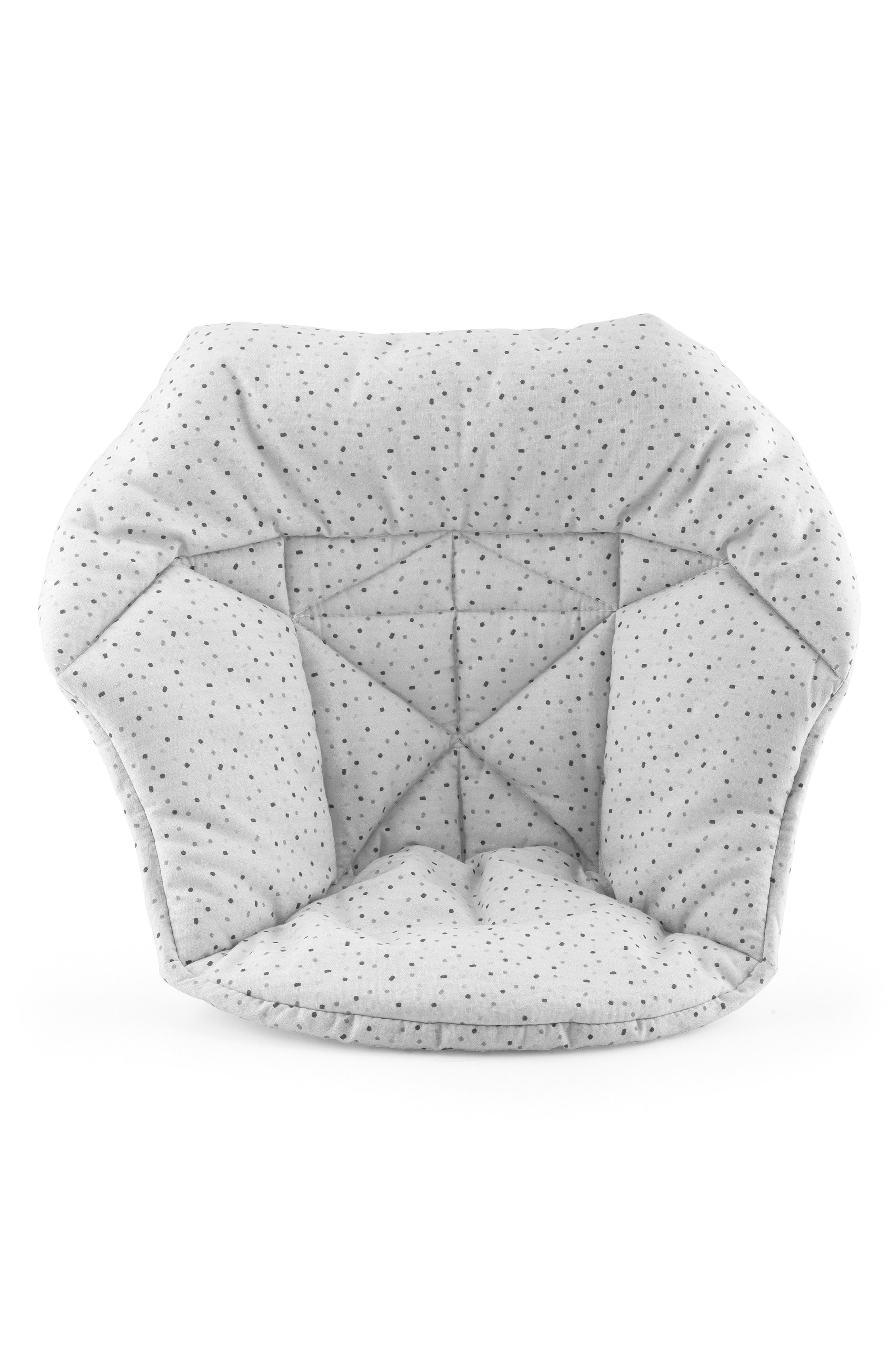 Seat Cushion for Tripp Trapp<sup>®</sup> Highchair,                         Main,                         color, CLOUD SPRINKLE