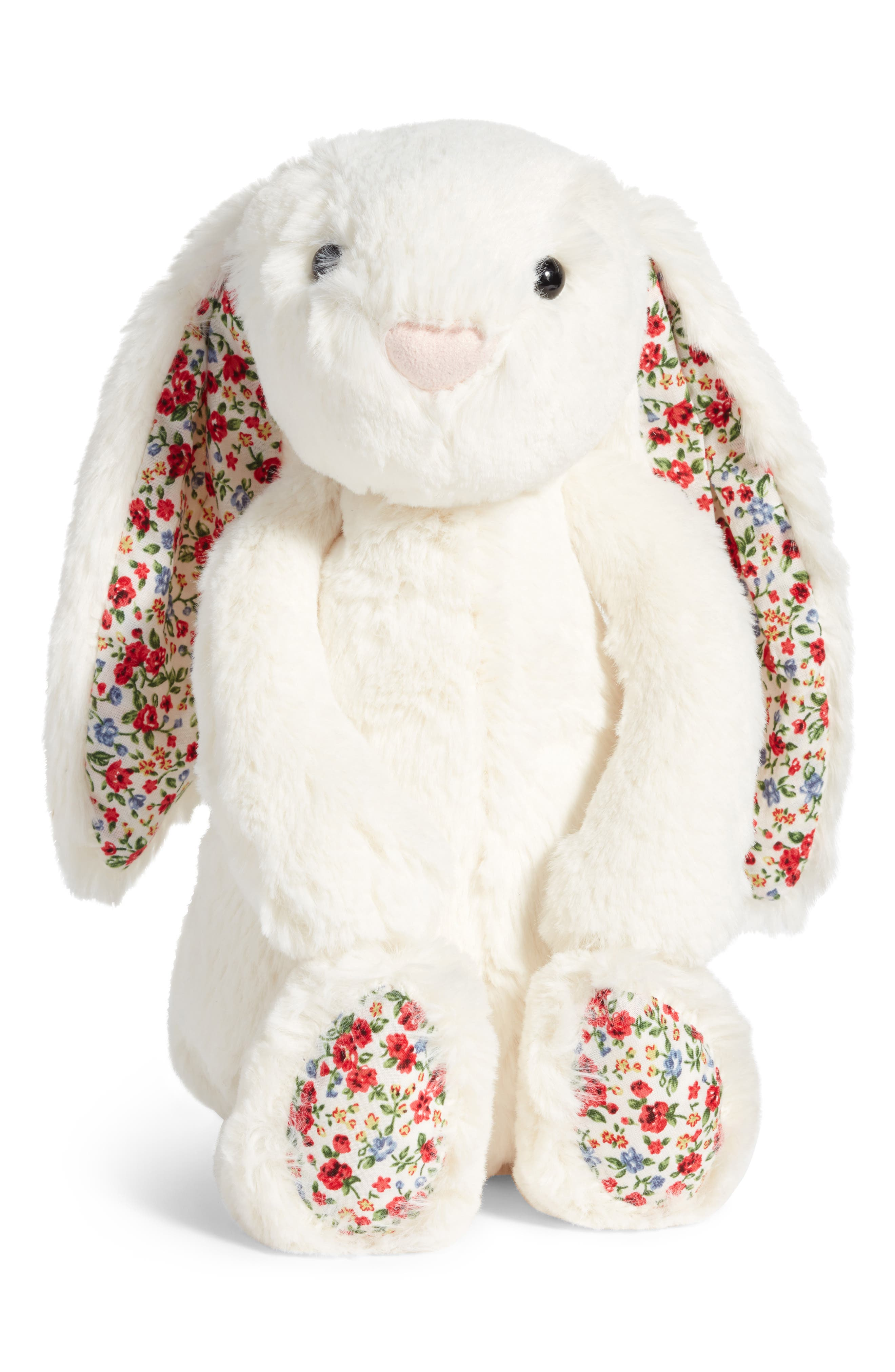 Blossom Lily Bunny Stuffed Animal,                             Main thumbnail 1, color,