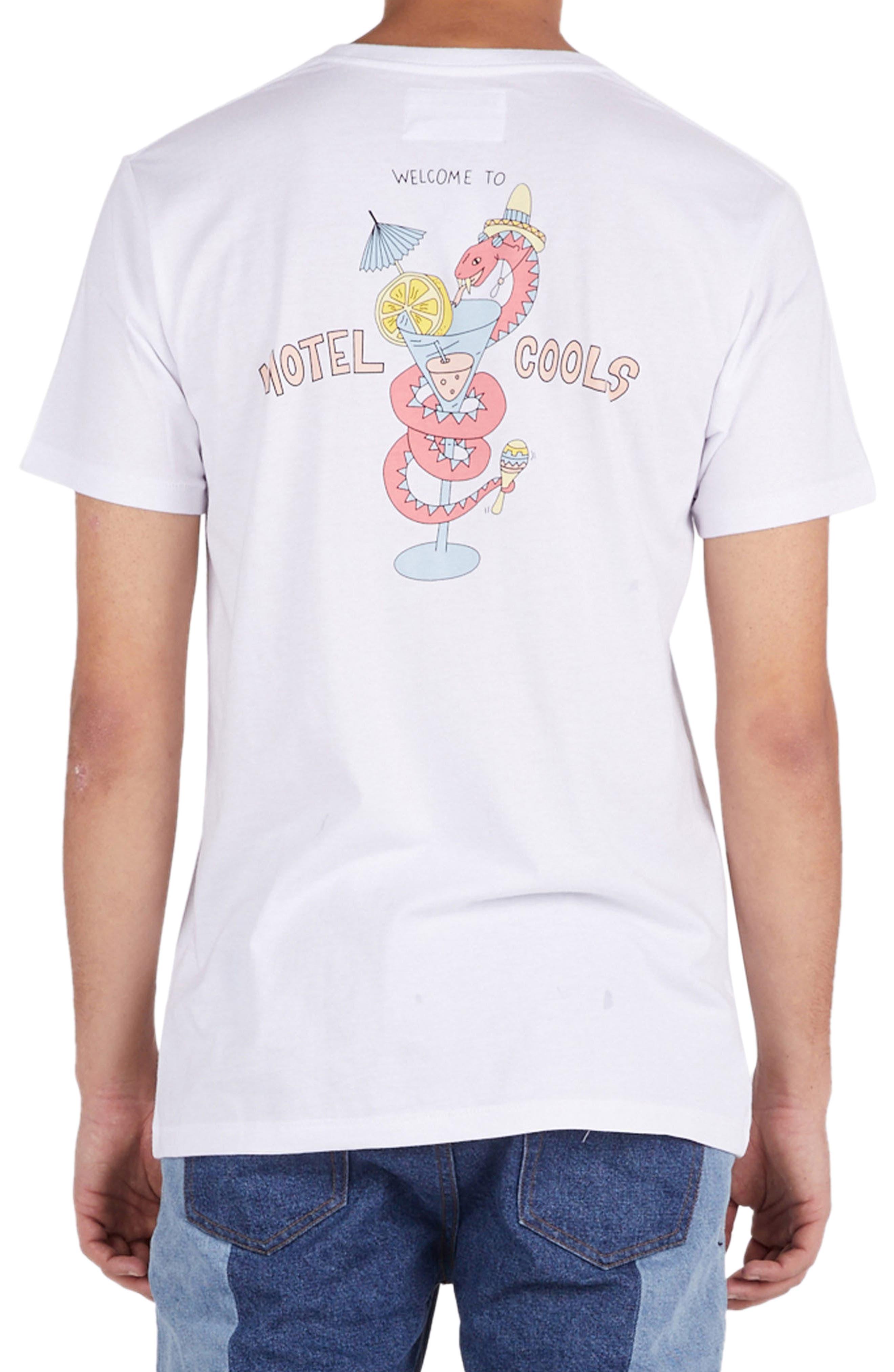 Snake Graphic T-Shirt,                             Alternate thumbnail 2, color,                             100
