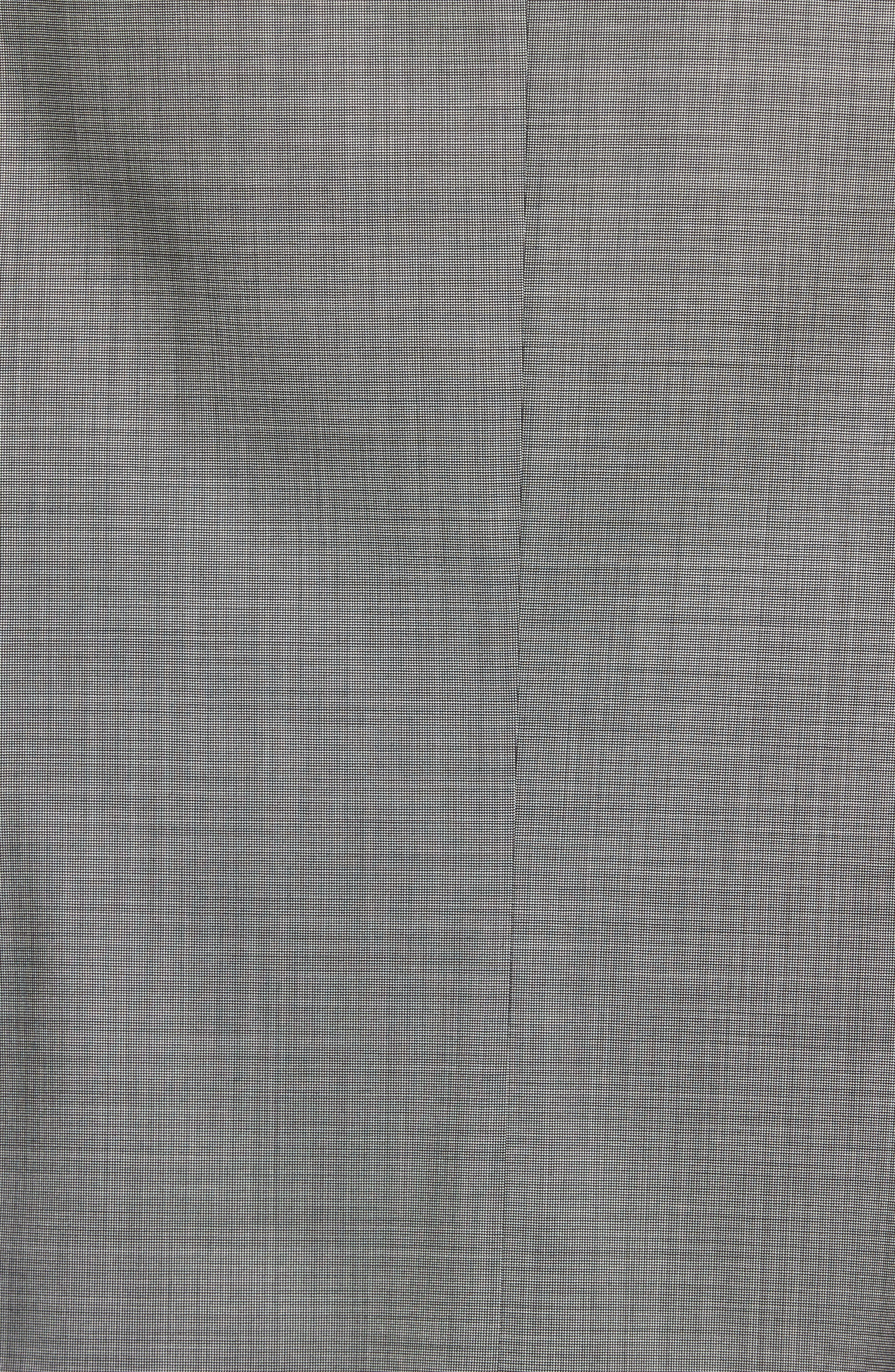 Jay Trim Fit Solid Wool Suit,                             Alternate thumbnail 12, color,                             LIGHT GREY