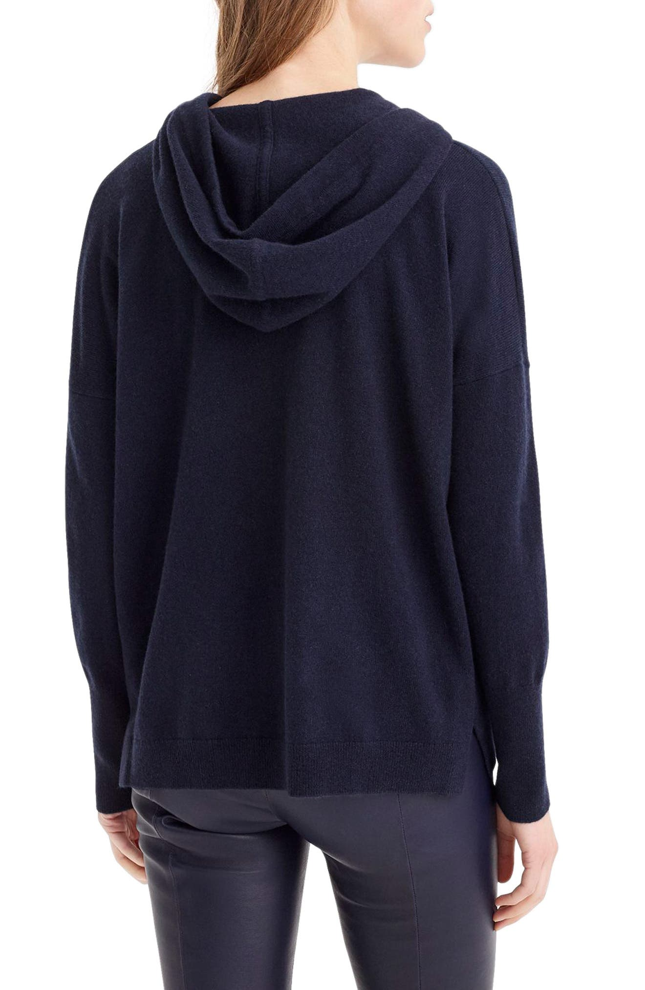 Everyday Cashmere Hoodie Sweater,                             Alternate thumbnail 2, color,                             460