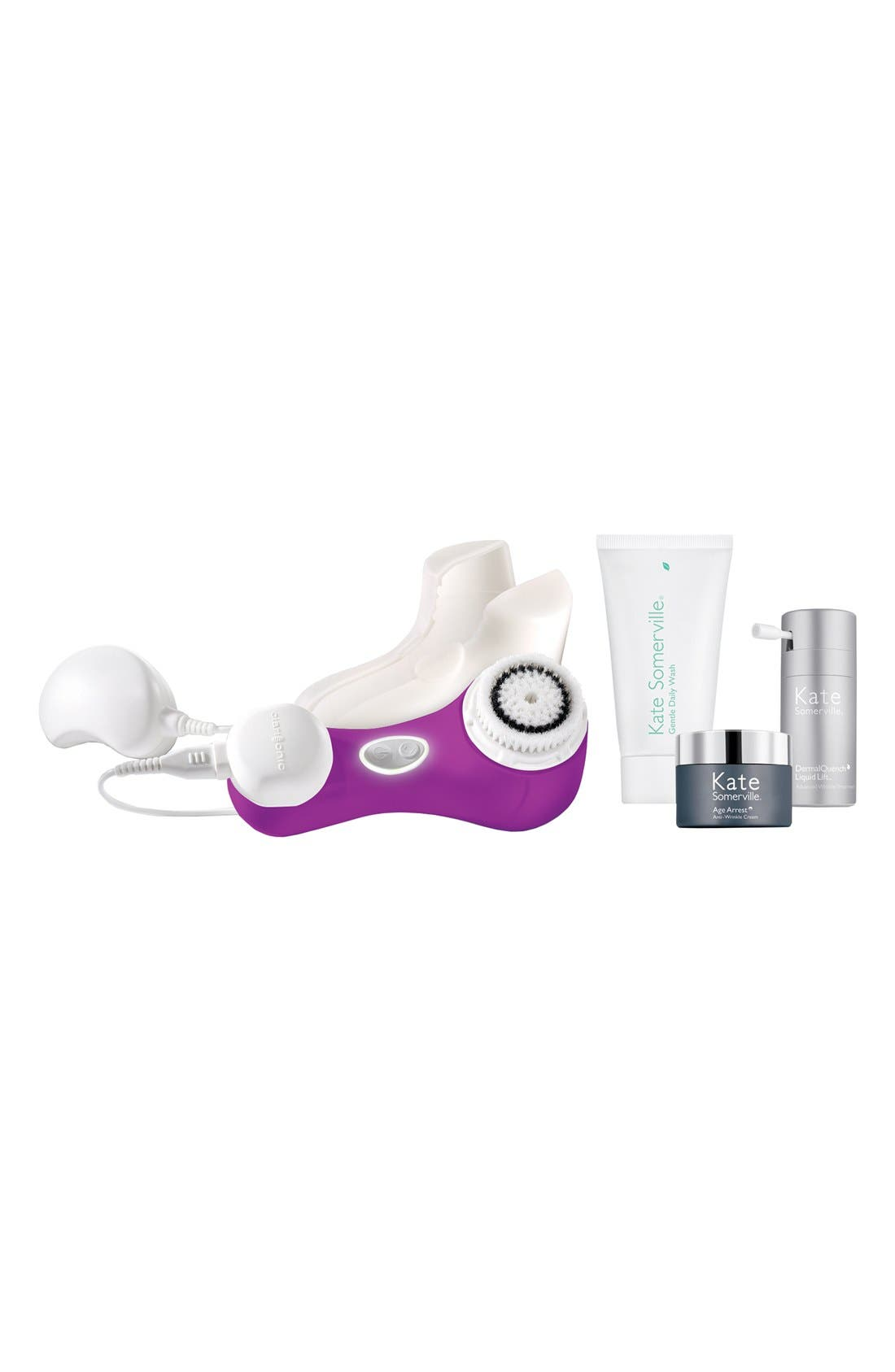 CLARISONIC,                             & Kate Somerville<sup>®</sup> 'Mia 2' Cleansing System Set,                             Main thumbnail 1, color,                             000
