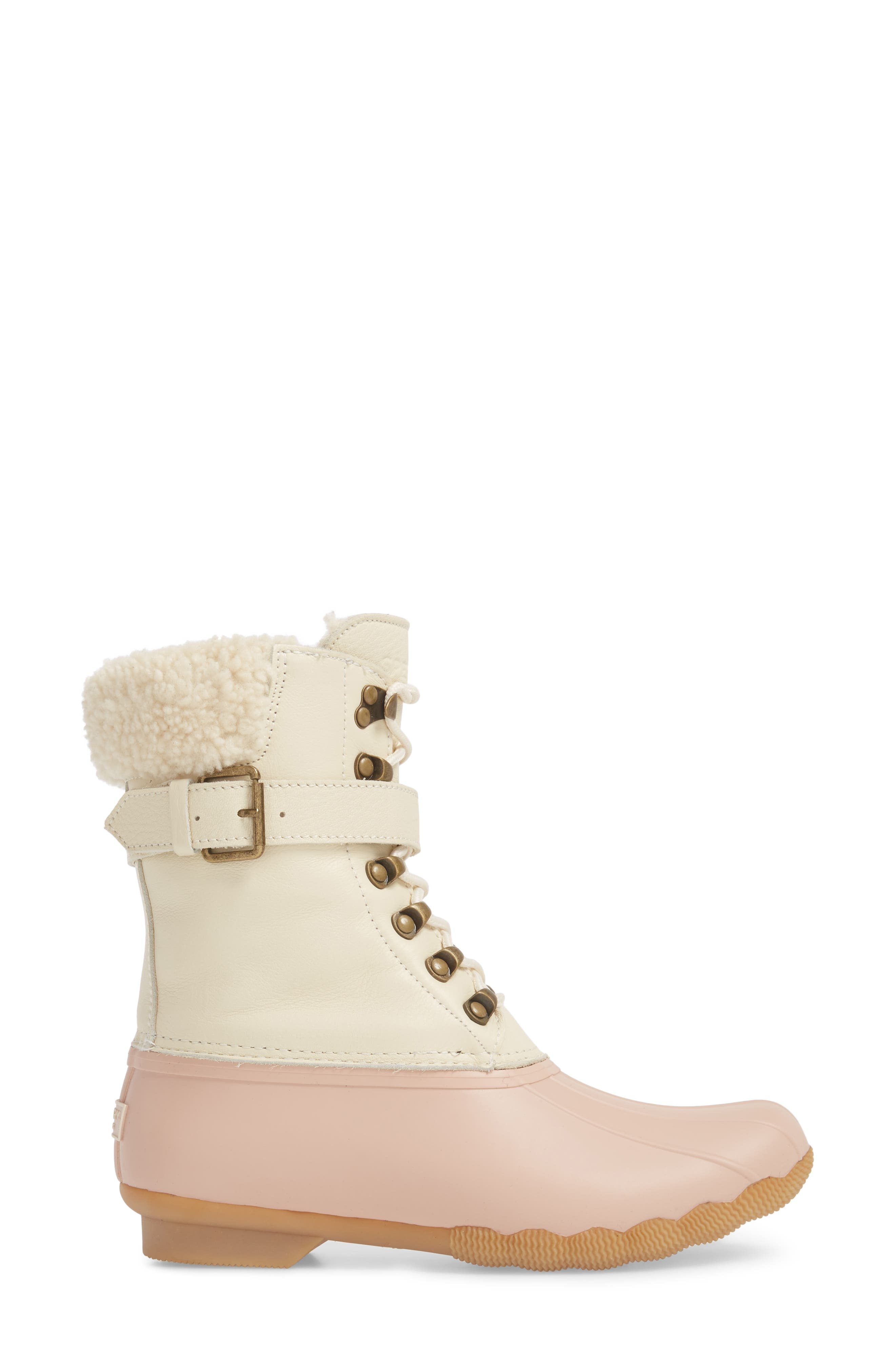 Shearwater Water-Resistant Genuine Shearling Lined Boot,                             Alternate thumbnail 12, color,