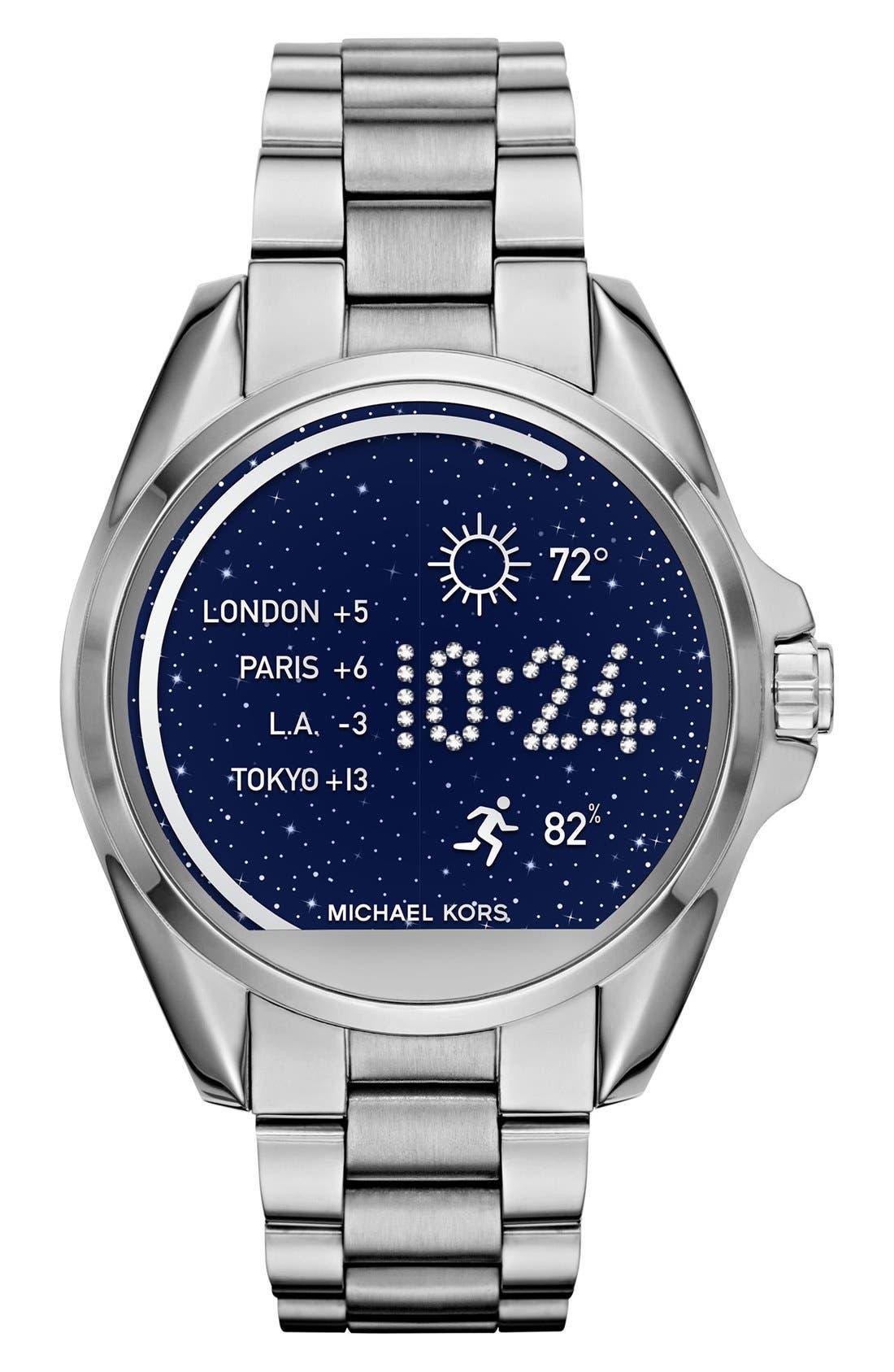 MICHAEL Michael Kors Bradshaw Access Bracelet Smart Watch, 45mm,                             Main thumbnail 5, color,