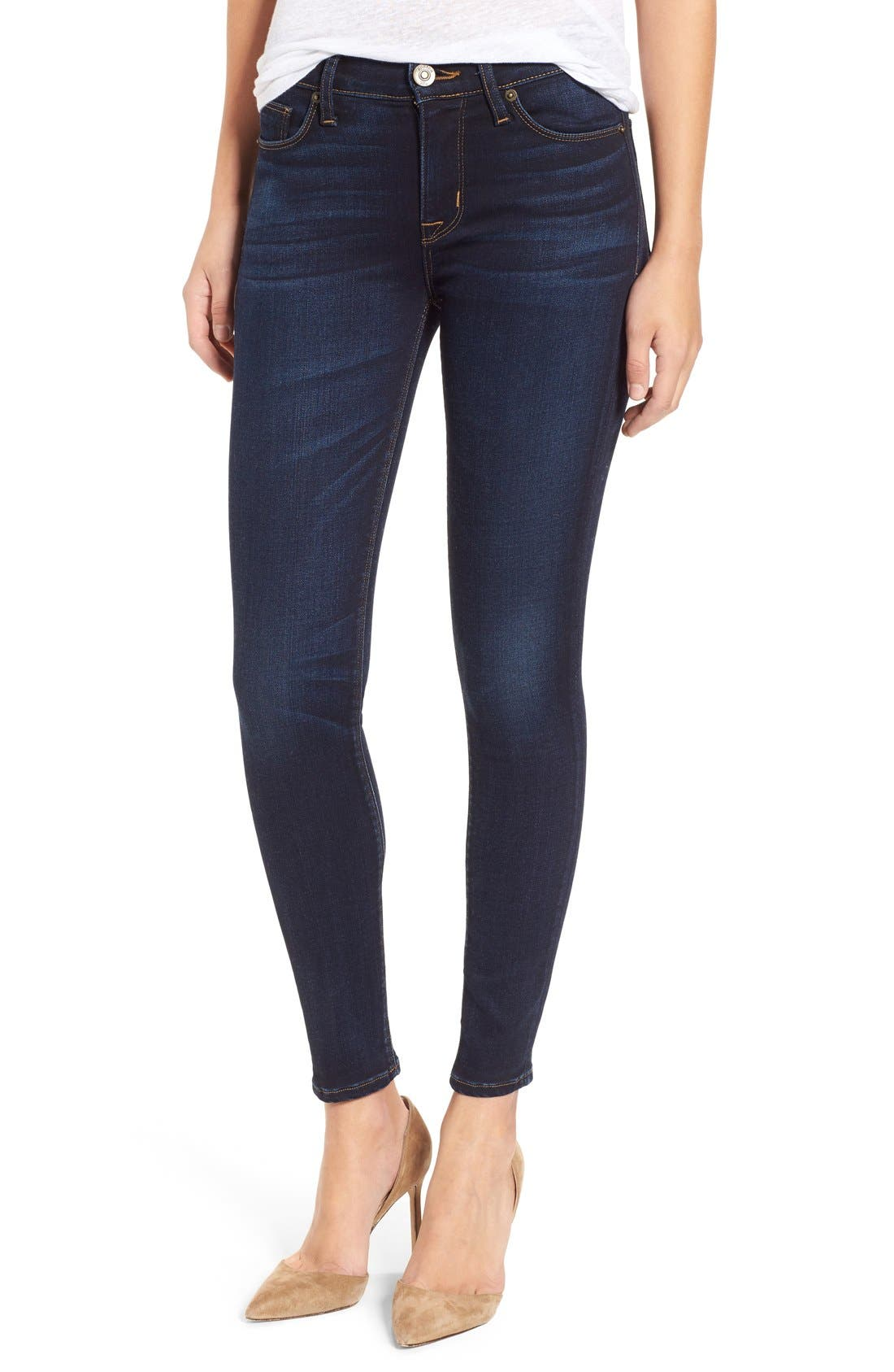 'Nico' Ankle Skinny Jeans (Calvary)<br />,                             Main thumbnail 1, color,                             CALVARY
