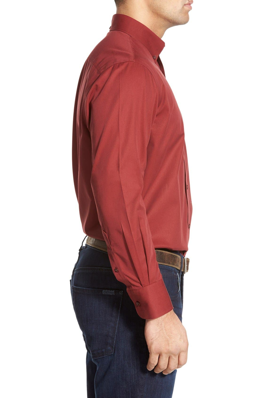 Smartcare<sup>™</sup> Traditional Fit Twill Boat Shirt,                             Alternate thumbnail 108, color,