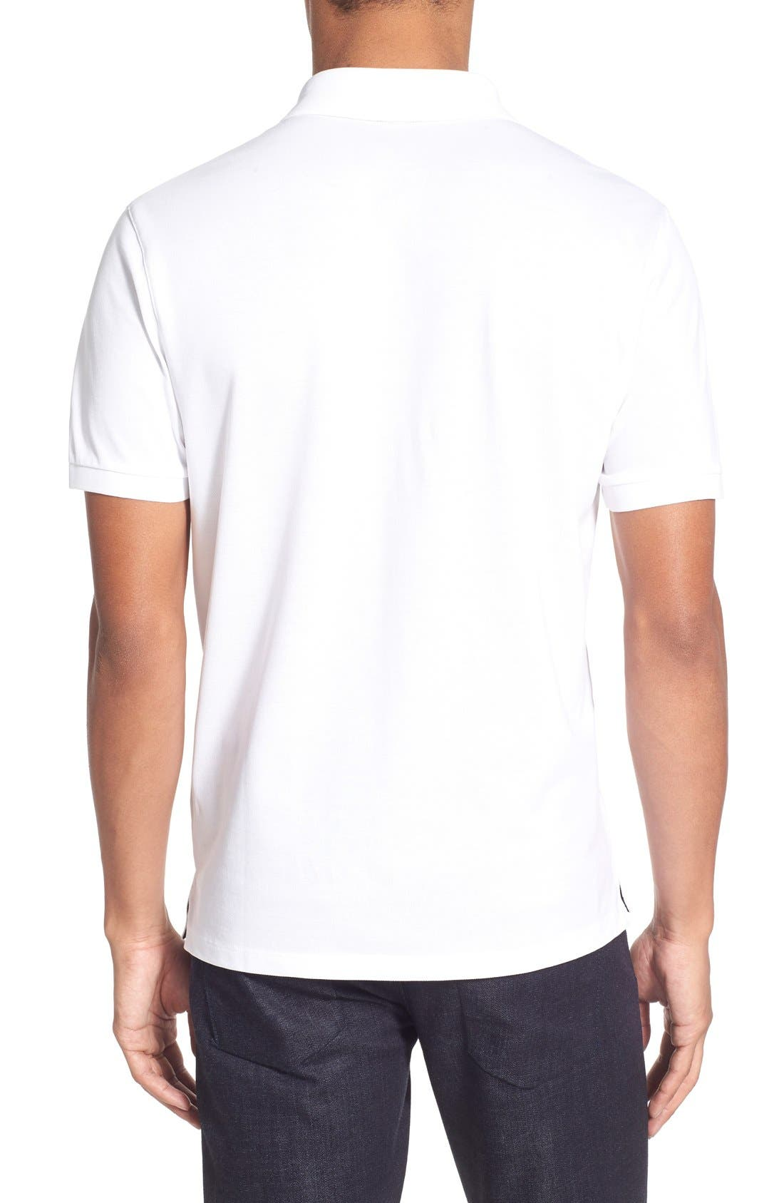'Pallas' Regular Fit Logo Embroidered Polo Shirt,                             Alternate thumbnail 23, color,