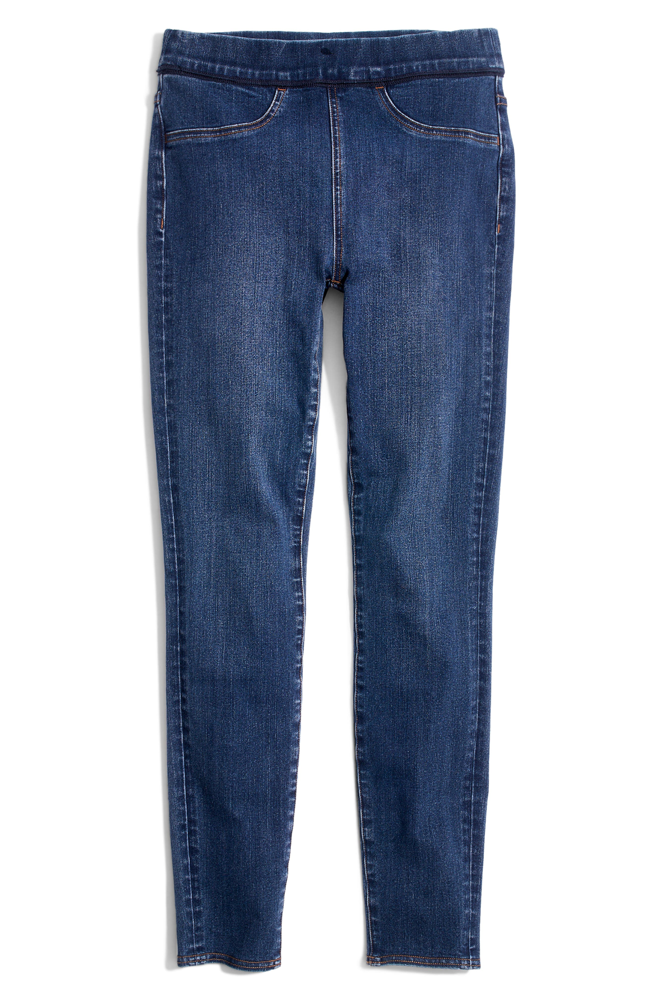 Pull-On Jeans,                             Alternate thumbnail 6, color,                             FREEBURG